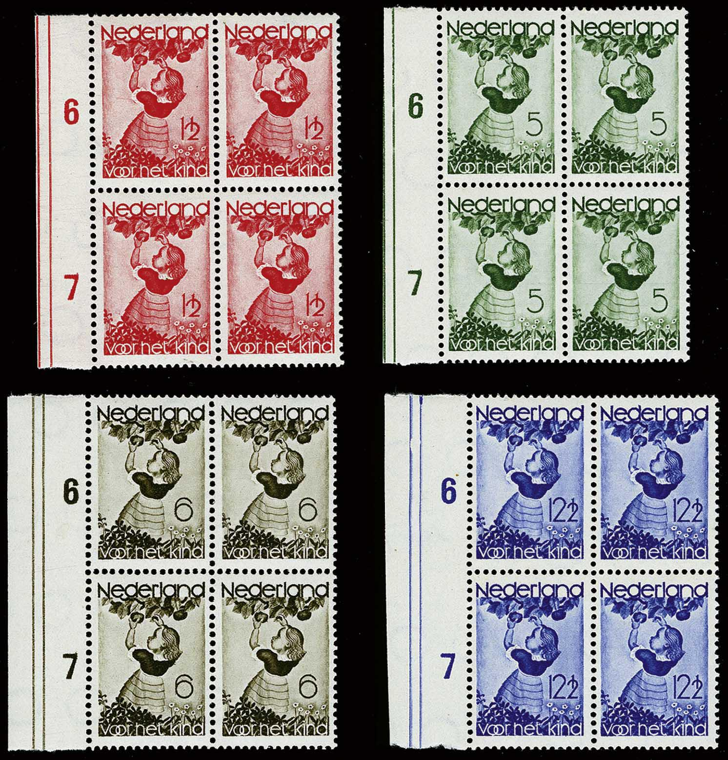 Lot 3586 - Netherlands and former colonies Netherlands -  Corinphila Veilingen Auction 244 -Netherlands and former colonies, WW2 Postal History, Bosnia, German and British colonies, Egypt. - Day 3
