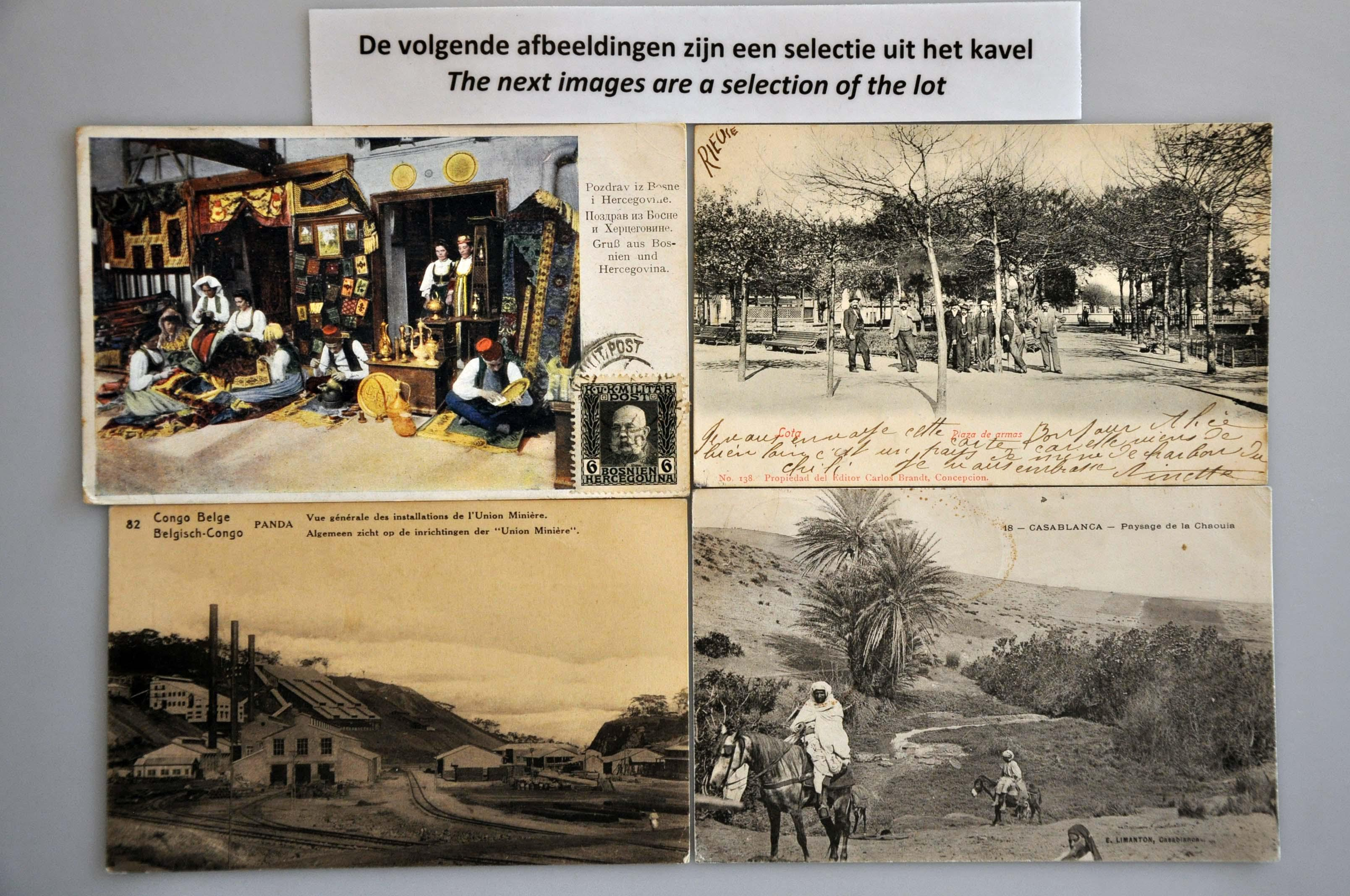 Lot 2543 - various countries various countries -  Corinphila Veilingen Auction 244 -Netherlands and former colonies, WW2 Postal History, Bosnia, German and British colonies, Egypt. - Day 2