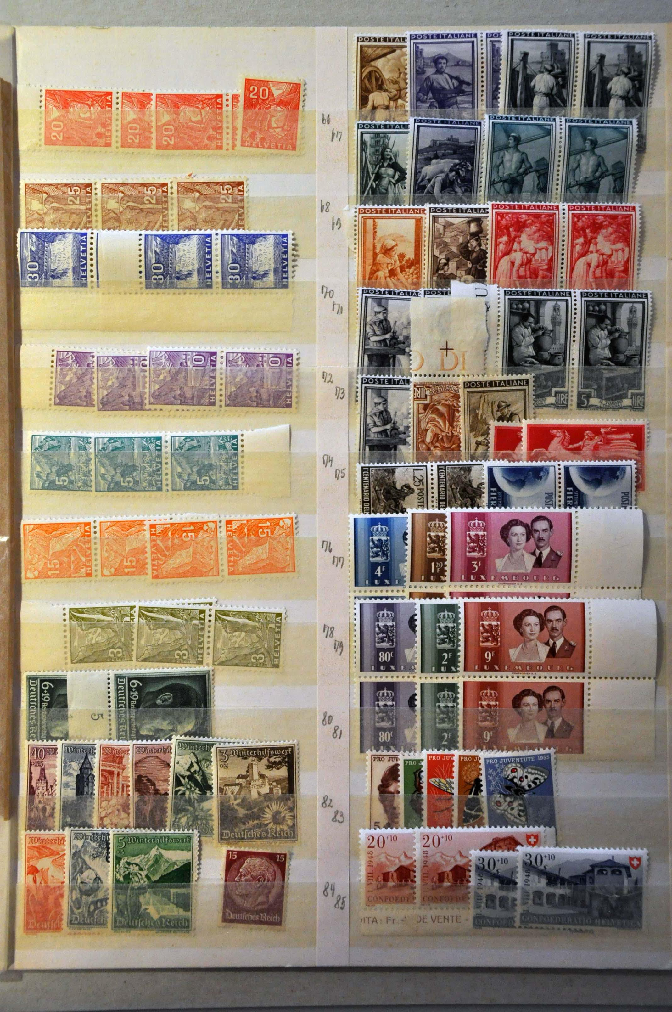 Lot 383 - European Countries West European Countries -  Corinphila Veilingen Auction 244 -Netherlands and former colonies, WW2 Postal History, Bosnia, German and British colonies, Egypt. - Day 1