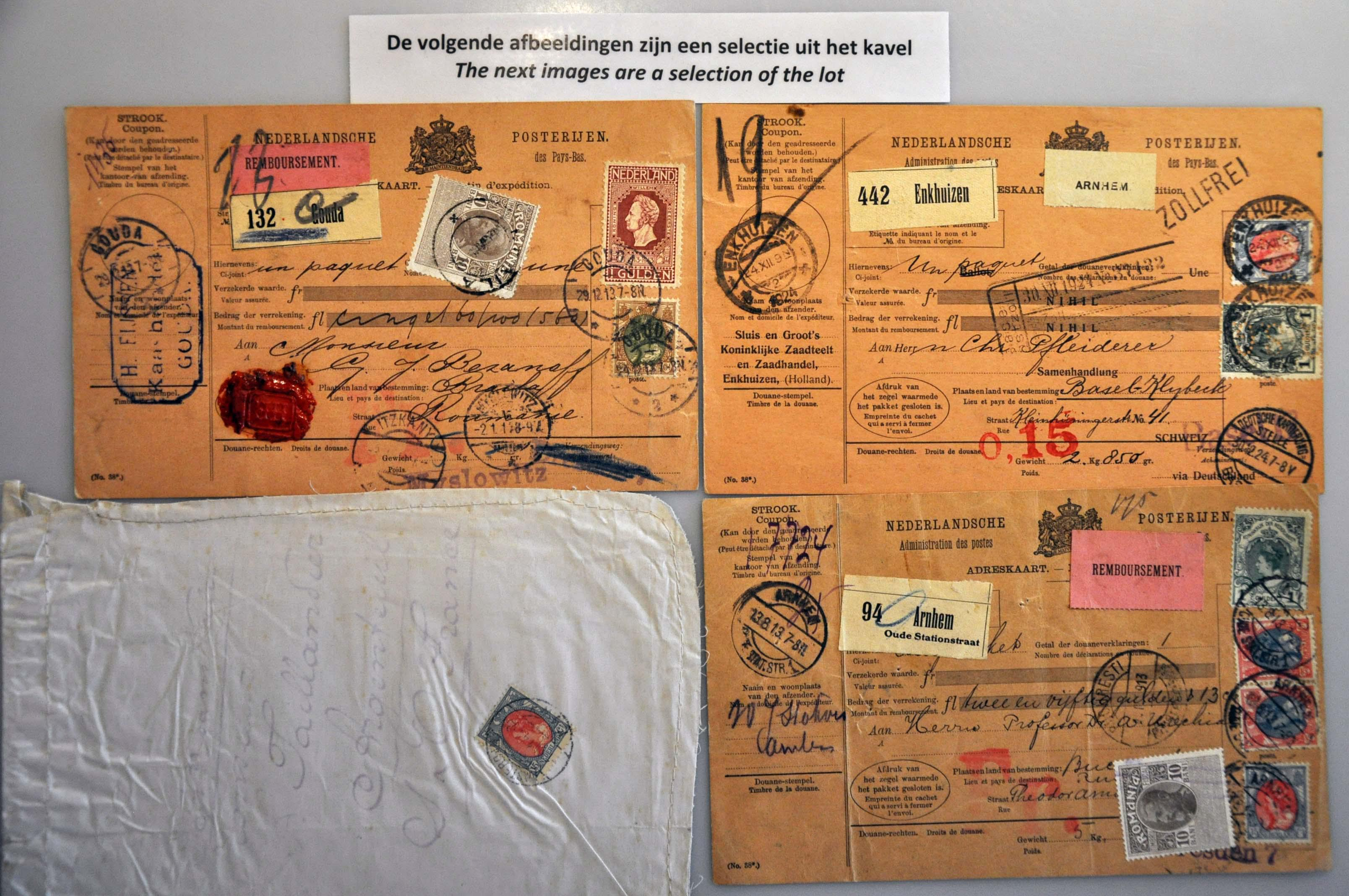 Lot 2341 - Netherlands and former colonies Netherlands -  Corinphila Veilingen Auction 244 -Netherlands and former colonies, WW2 Postal History, Bosnia, German and British colonies, Egypt. - Day 2