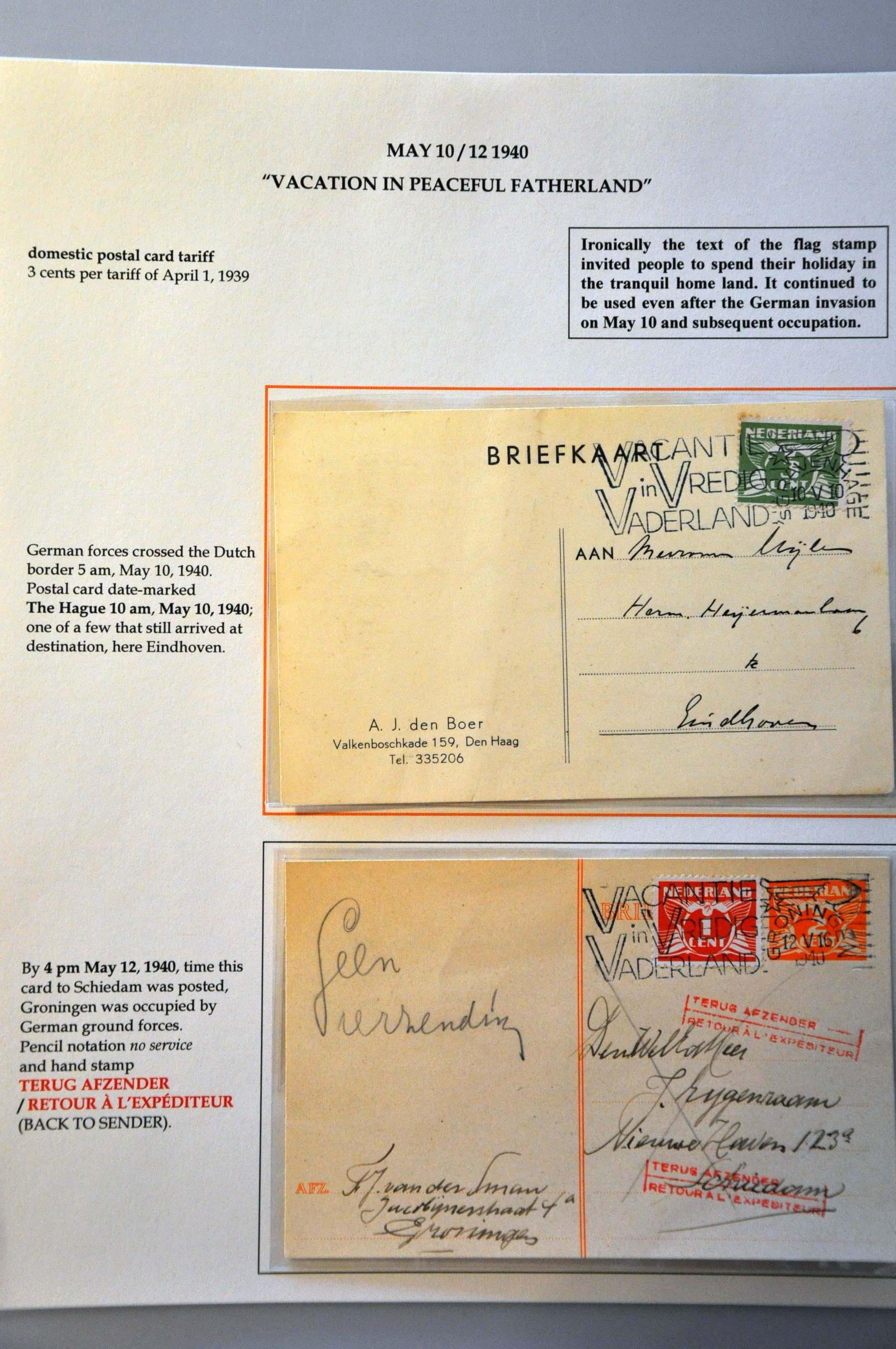 Lot 2809 - Netherlands and former colonies Netherlands -  Corinphila Veilingen Auction 244 -Netherlands and former colonies, WW2 Postal History, Bosnia, German and British colonies, Egypt. - Day 3