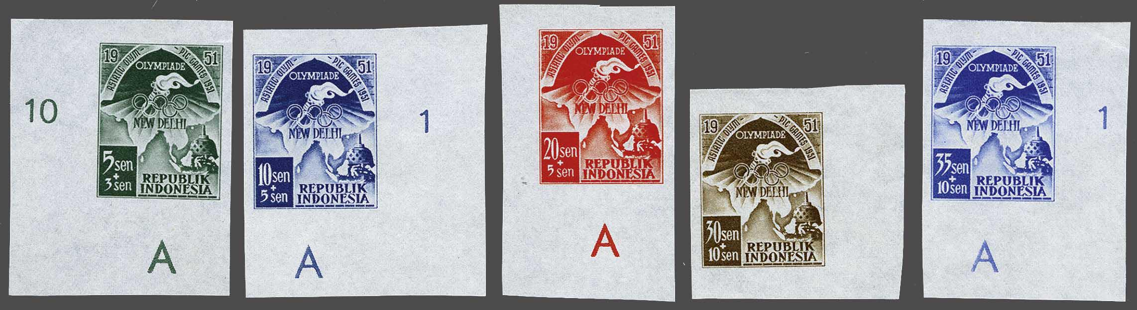 Lot 3805 - Netherlands and former colonies indonesia -  Corinphila Veilingen Auction 244 -Netherlands and former colonies, WW2 Postal History, Bosnia, German and British colonies, Egypt. - Day 3