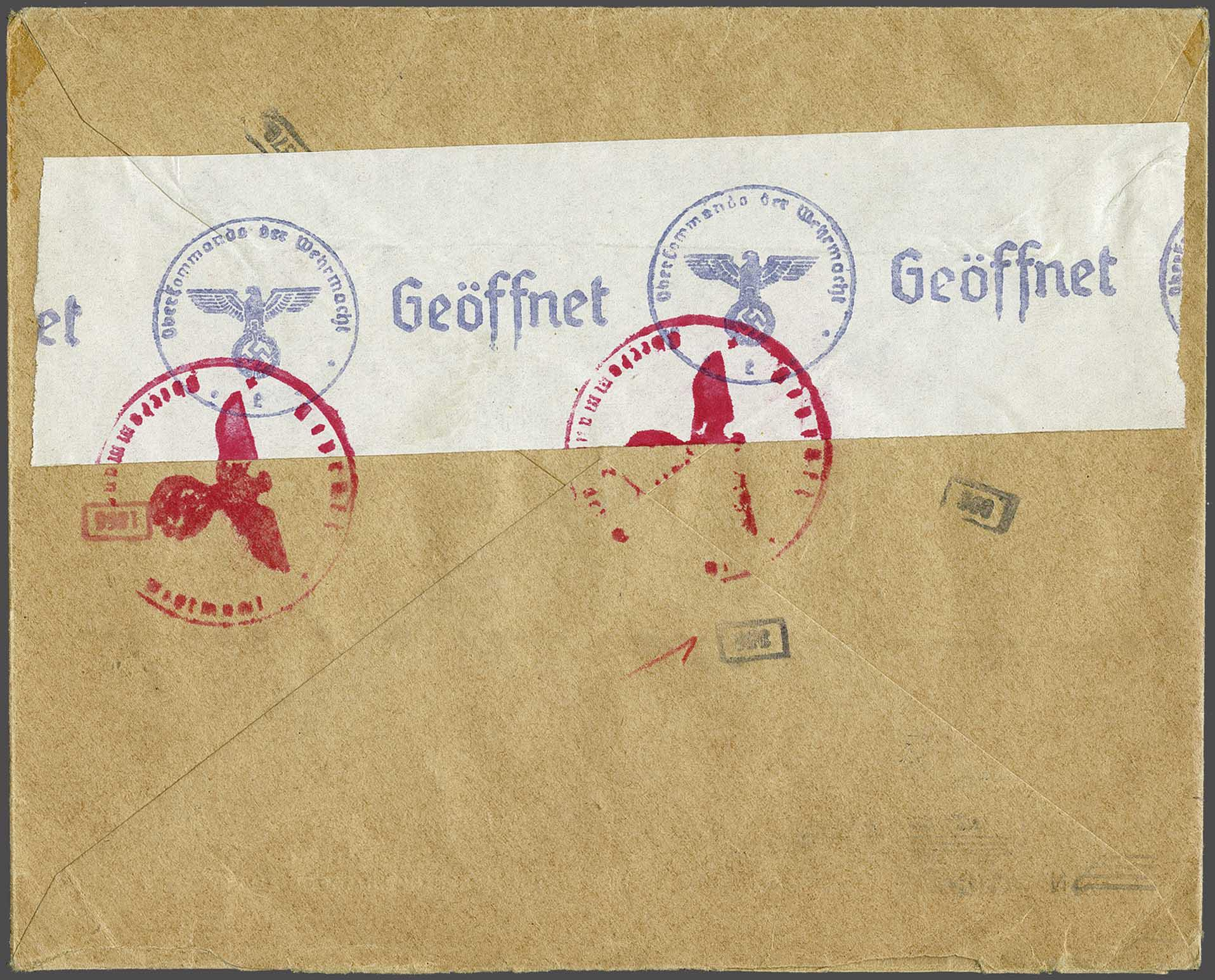 Lot 2824 - Netherlands and former colonies Netherlands -  Corinphila Veilingen Auction 244 -Netherlands and former colonies, WW2 Postal History, Bosnia, German and British colonies, Egypt. - Day 3