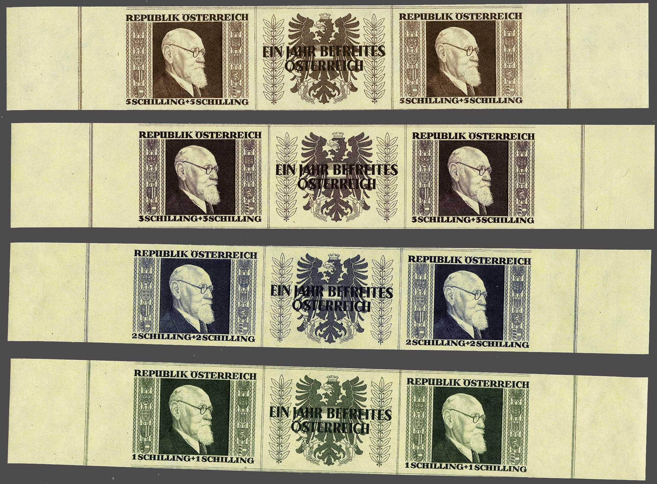 Lot 5 - Austria and former territories Austria -  Corinphila Veilingen Auction 244 -Netherlands and former colonies, WW2 Postal History, Bosnia, German and British colonies, Egypt. - Day 1