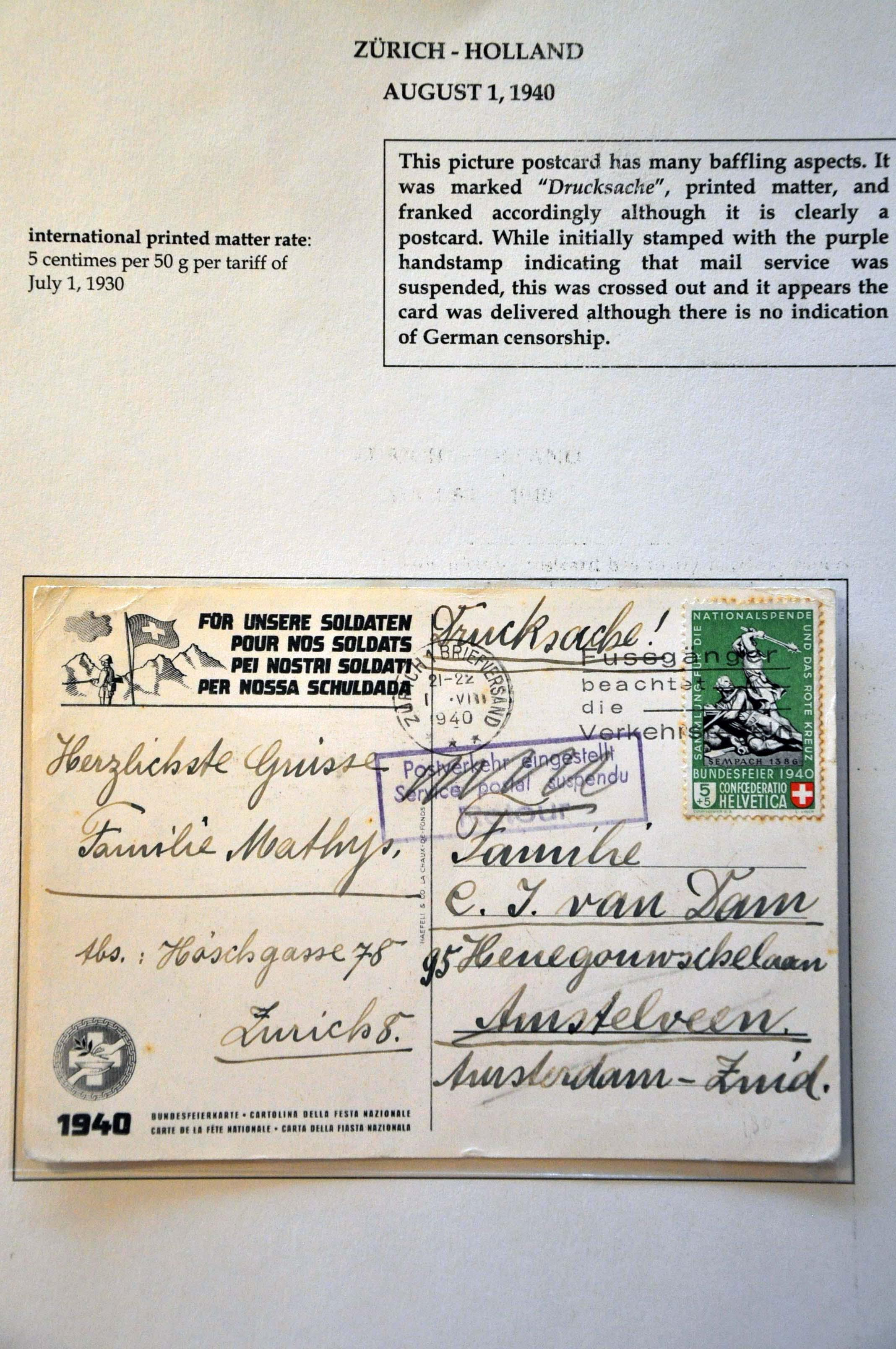 Lot 2818 - Netherlands and former colonies Netherlands -  Corinphila Veilingen Auction 244 -Netherlands and former colonies, WW2 Postal History, Bosnia, German and British colonies, Egypt. - Day 3