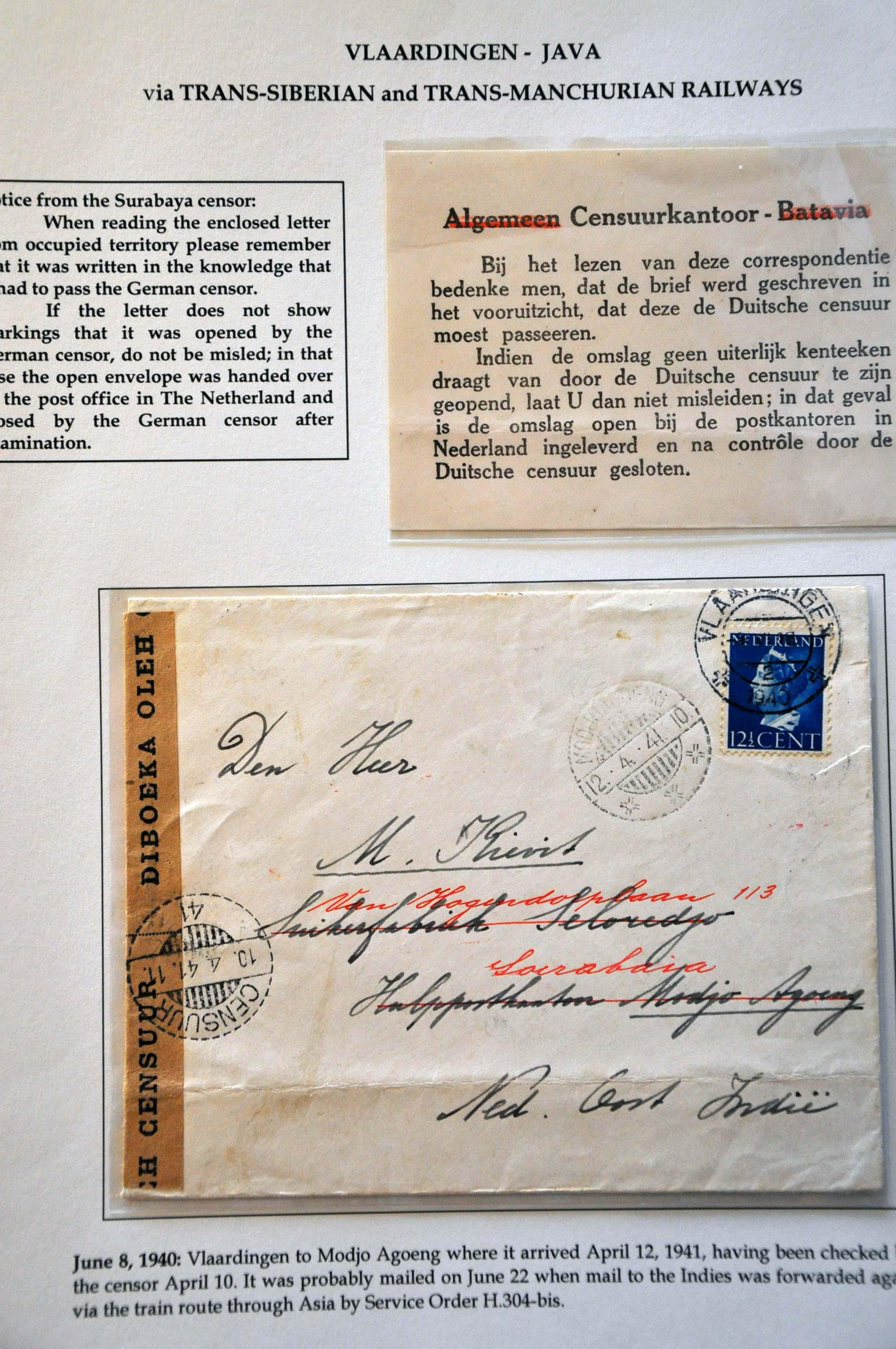 Lot 2813 - Netherlands and former colonies Netherlands -  Corinphila Veilingen Auction 244 -Netherlands and former colonies, WW2 Postal History, Bosnia, German and British colonies, Egypt. - Day 3