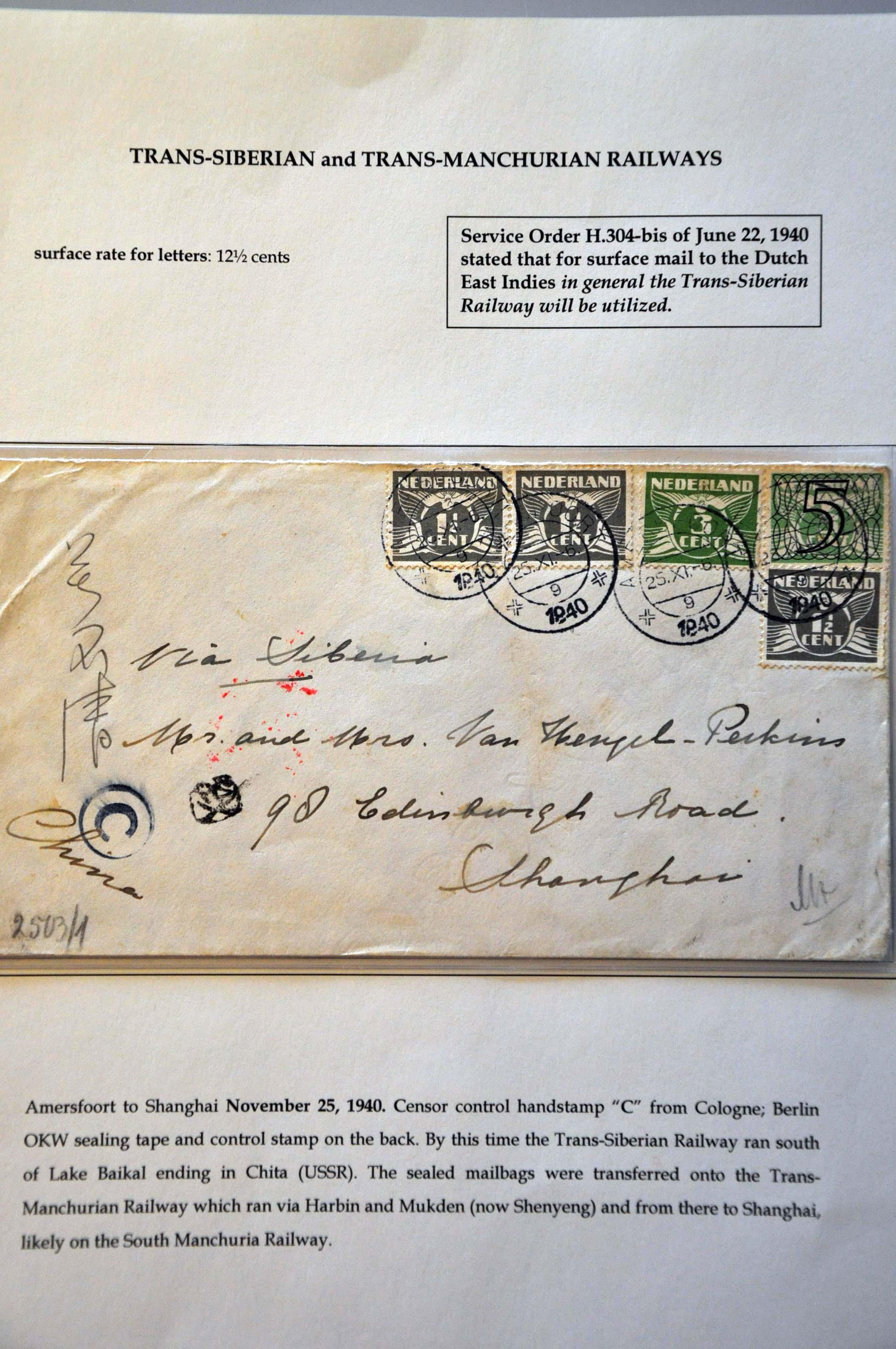 Lot 2817 - Netherlands and former colonies Netherlands -  Corinphila Veilingen Auction 244 -Netherlands and former colonies, WW2 Postal History, Bosnia, German and British colonies, Egypt. - Day 3