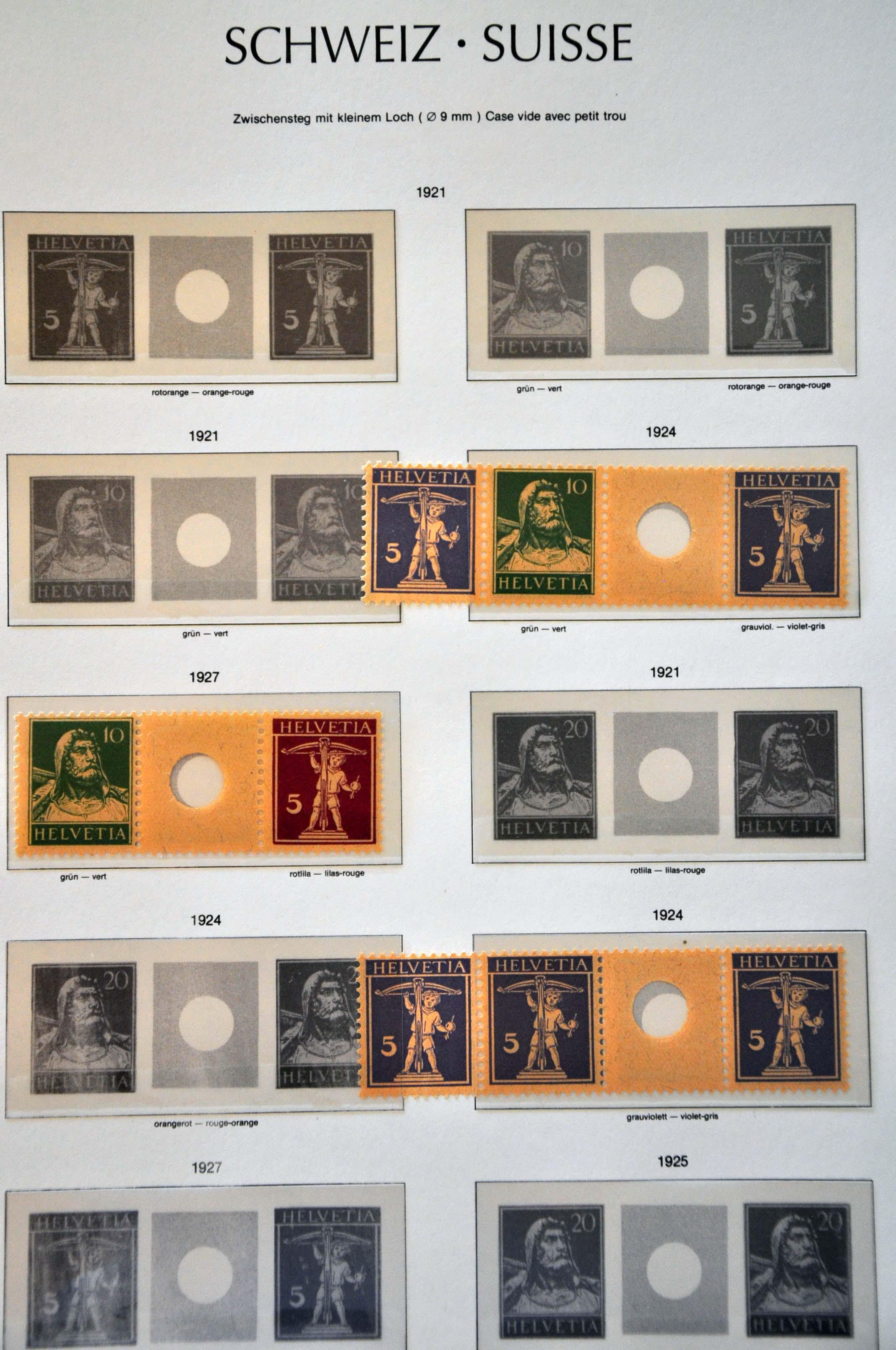 Lot 684 - Switzerland Switzerland -  Corinphila Veilingen Auction 245-246 Day 2 - Foreign countries - Collections and lots, Foreign countries - Boxes and literature