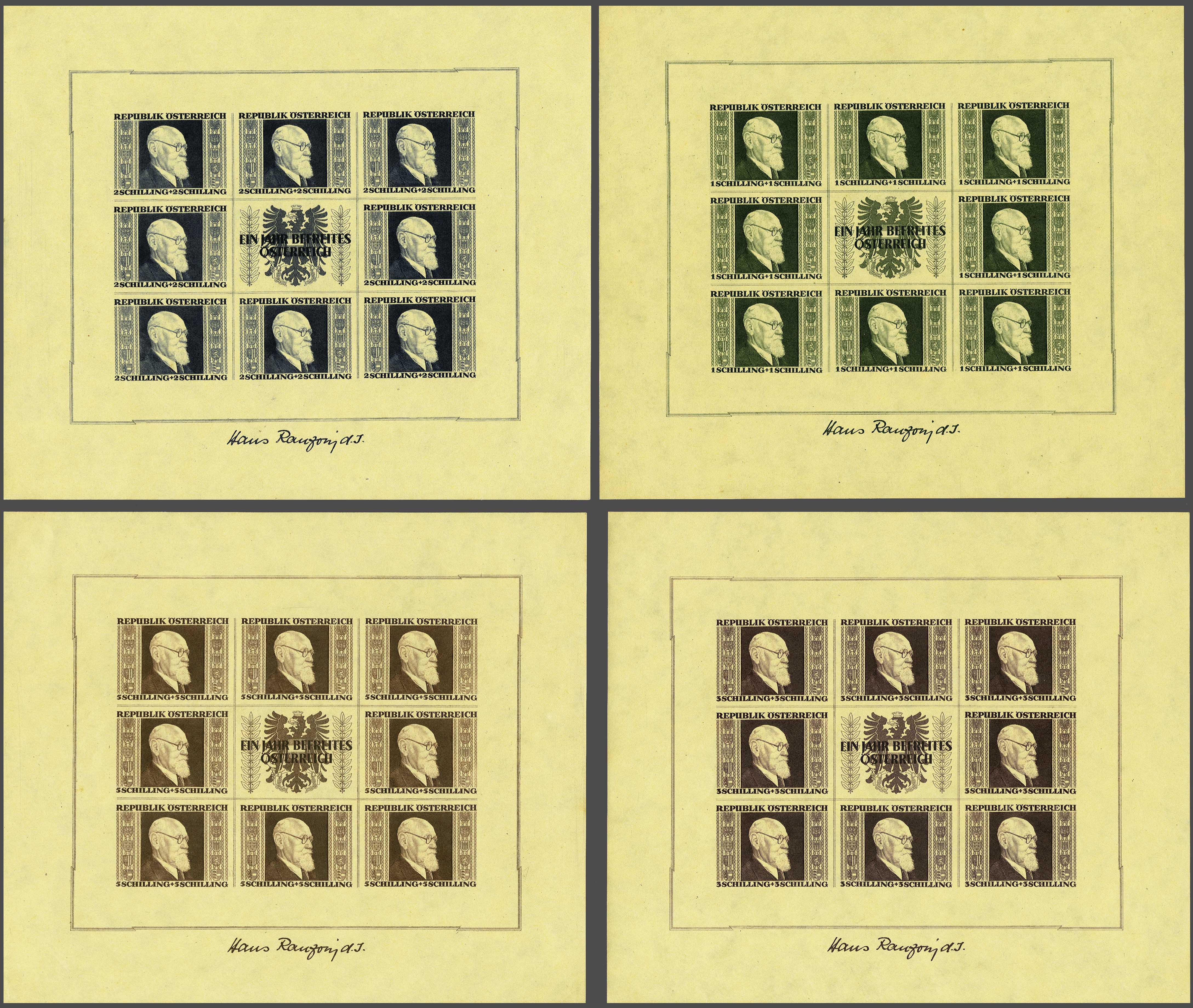 Lot 202 - Austria and former territories Austria -  Corinphila Veilingen Auction 245-246 Day 1 - Nepal - The Dick van der Wateren Collection, Foreign countries - Single lots, Picture postcards
