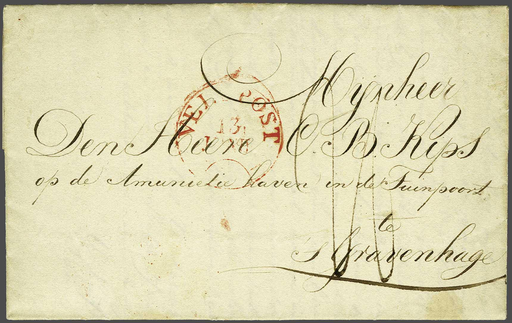 Lot 1707 - Netherlands and former colonies Netherlands -  Corinphila Veilingen Auction 245-246 Day 3 - Netherlands and former colonies - Single lots, Collections and lots, Boxes and literature