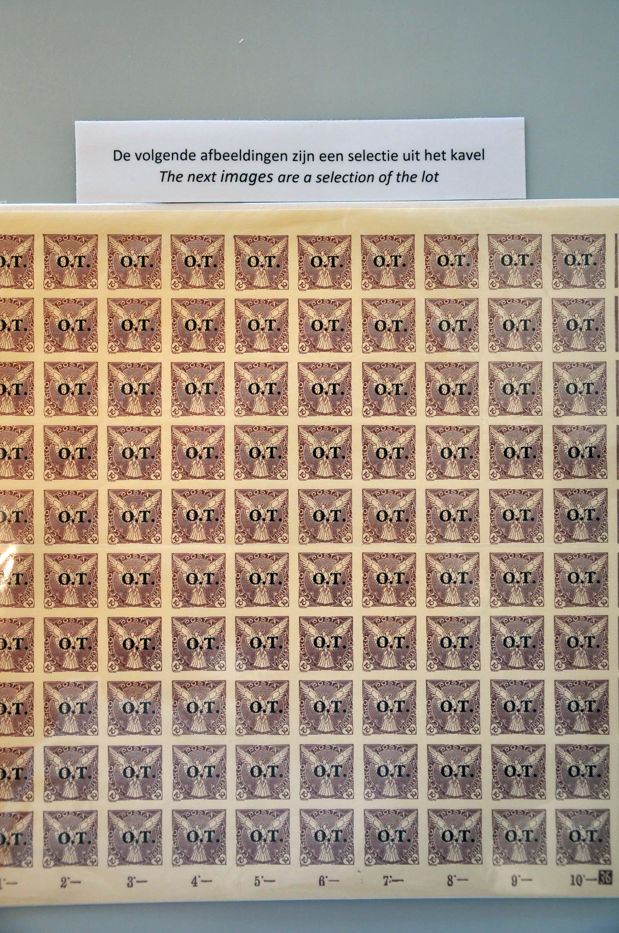 Lot 600 - European Countries Czechoslovakia -  Corinphila Veilingen Auction 245-246 Day 2 - Foreign countries - Collections and lots, Foreign countries - Boxes and literature