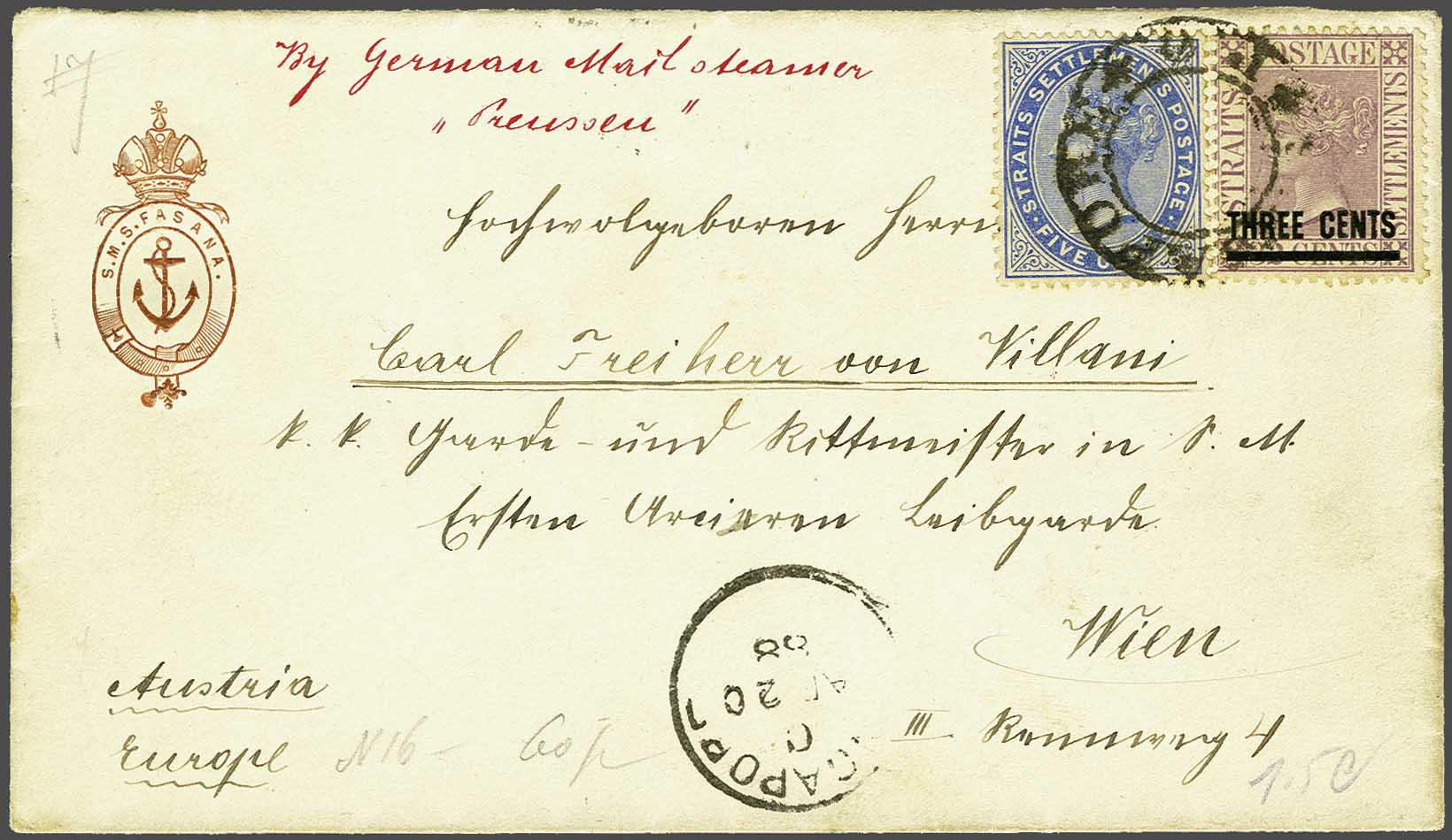 Lot 461 - Great Britain and former colonies malaysia -  Corinphila Veilingen Auction 245-246 Day 1 - Nepal - The Dick van der Wateren Collection, Foreign countries - Single lots, Picture postcards