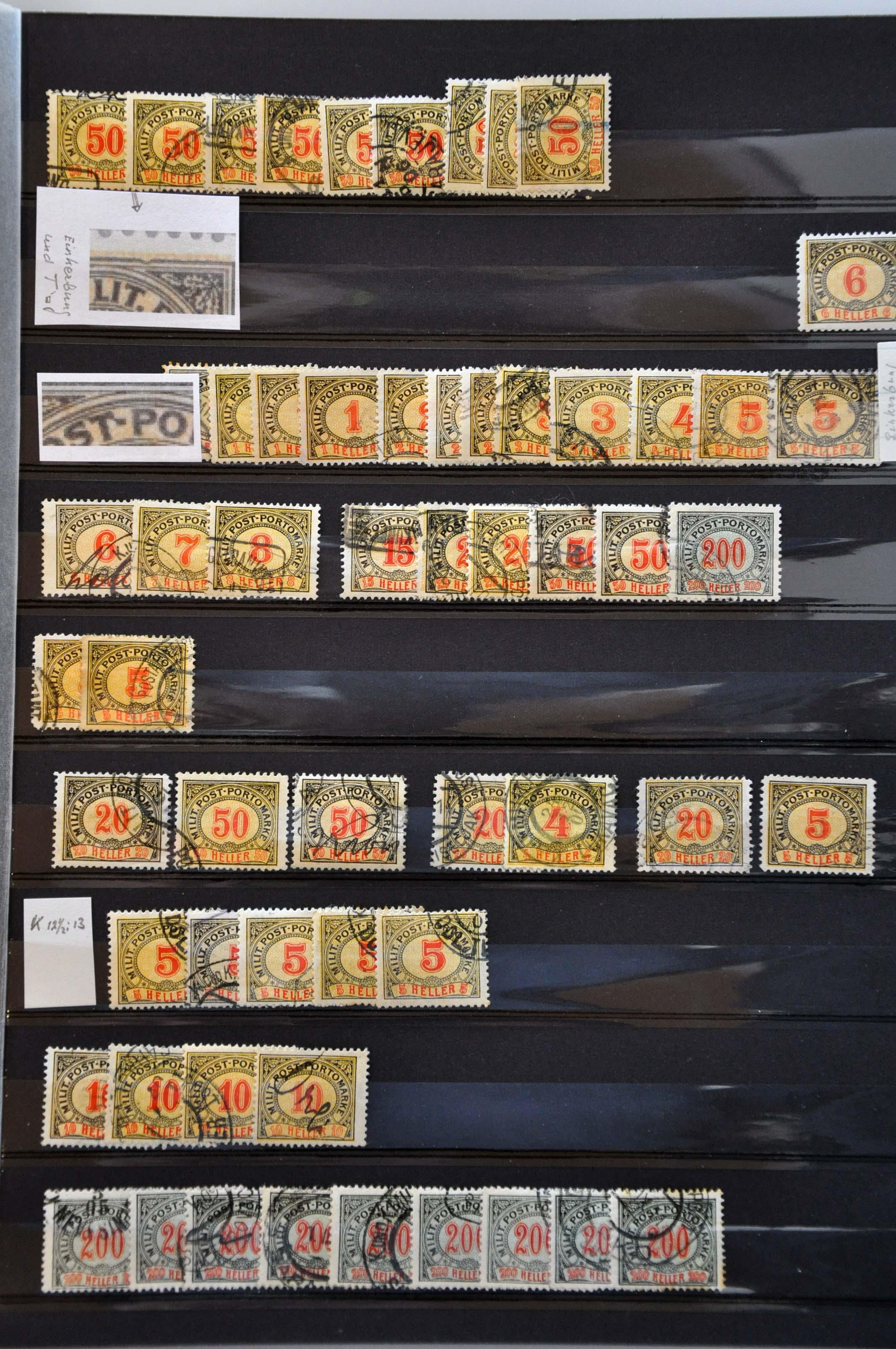 Lot 584 - Austria and former territories Bosnia and Herzegovina (Austrian) -  Corinphila Veilingen Auction 245-246 Day 2 - Foreign countries - Collections and lots, Foreign countries - Boxes and literature