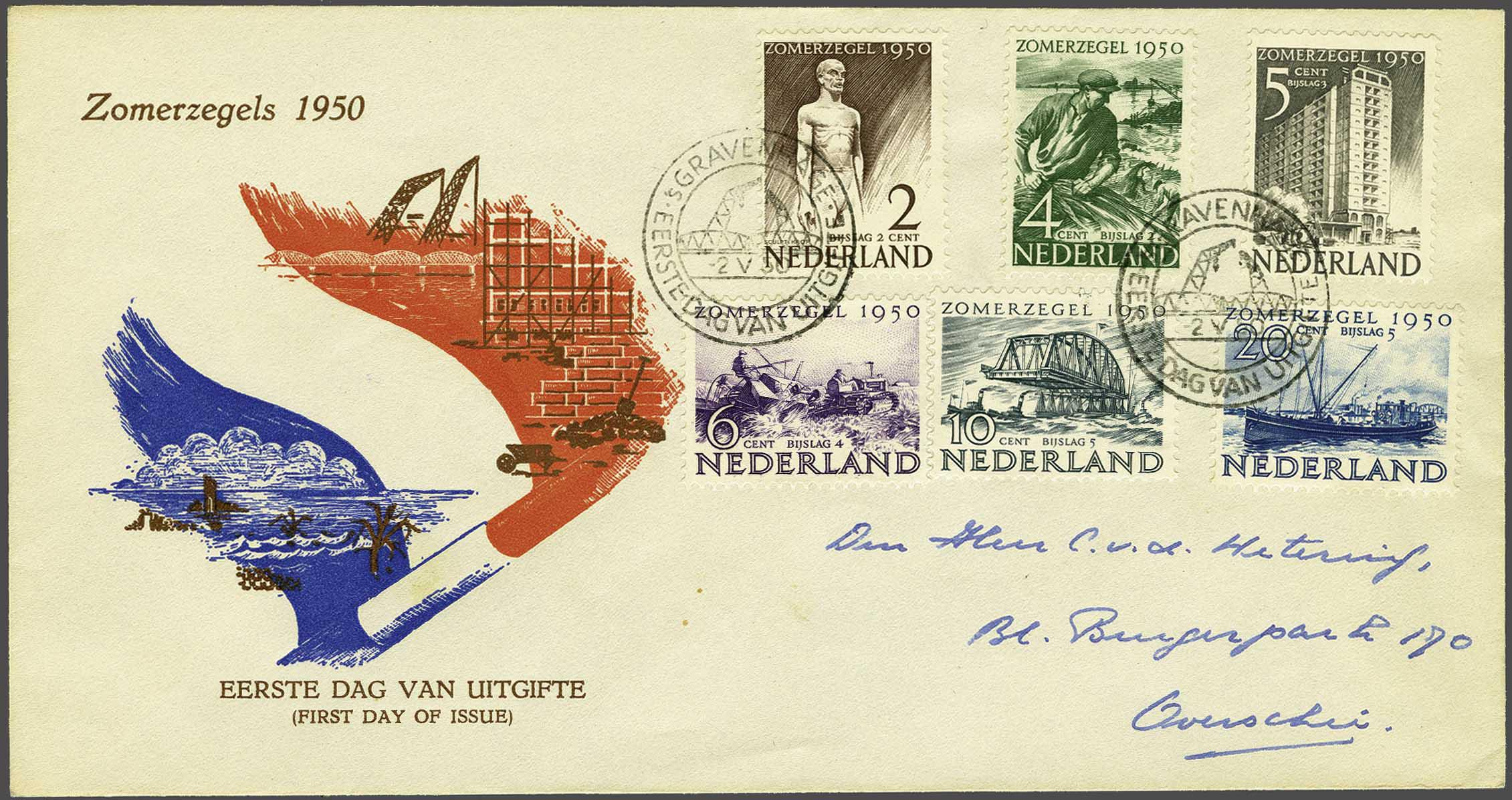 Lot 1906 - Netherlands and former colonies Netherlands -  Corinphila Veilingen Auction 245-246 Day 3 - Netherlands and former colonies - Single lots, Collections and lots, Boxes and literature