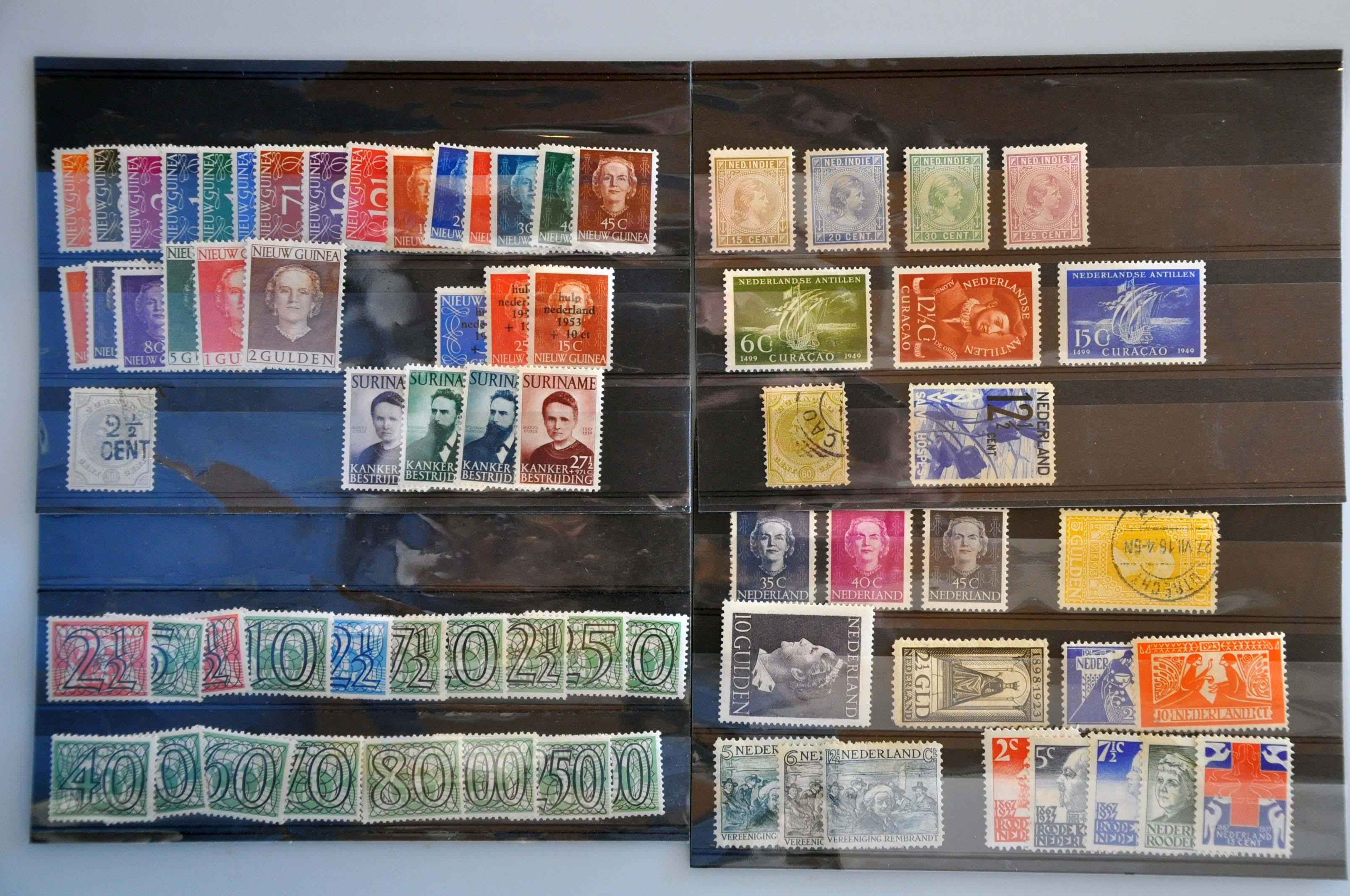 Lot 2799 - Netherlands and former colonies Netherlands and Former Territories -  Corinphila Veilingen Auction 245-246 Day 3 - Netherlands and former colonies - Single lots, Collections and lots, Boxes and literature