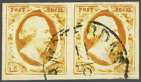 Lot 1722 - Netherlands and former colonies NL Semi-circular Cancellation -  Corinphila Veilingen Auction 245-246 Day 3 - Netherlands and former colonies - Single lots, Collections and lots, Boxes and literature