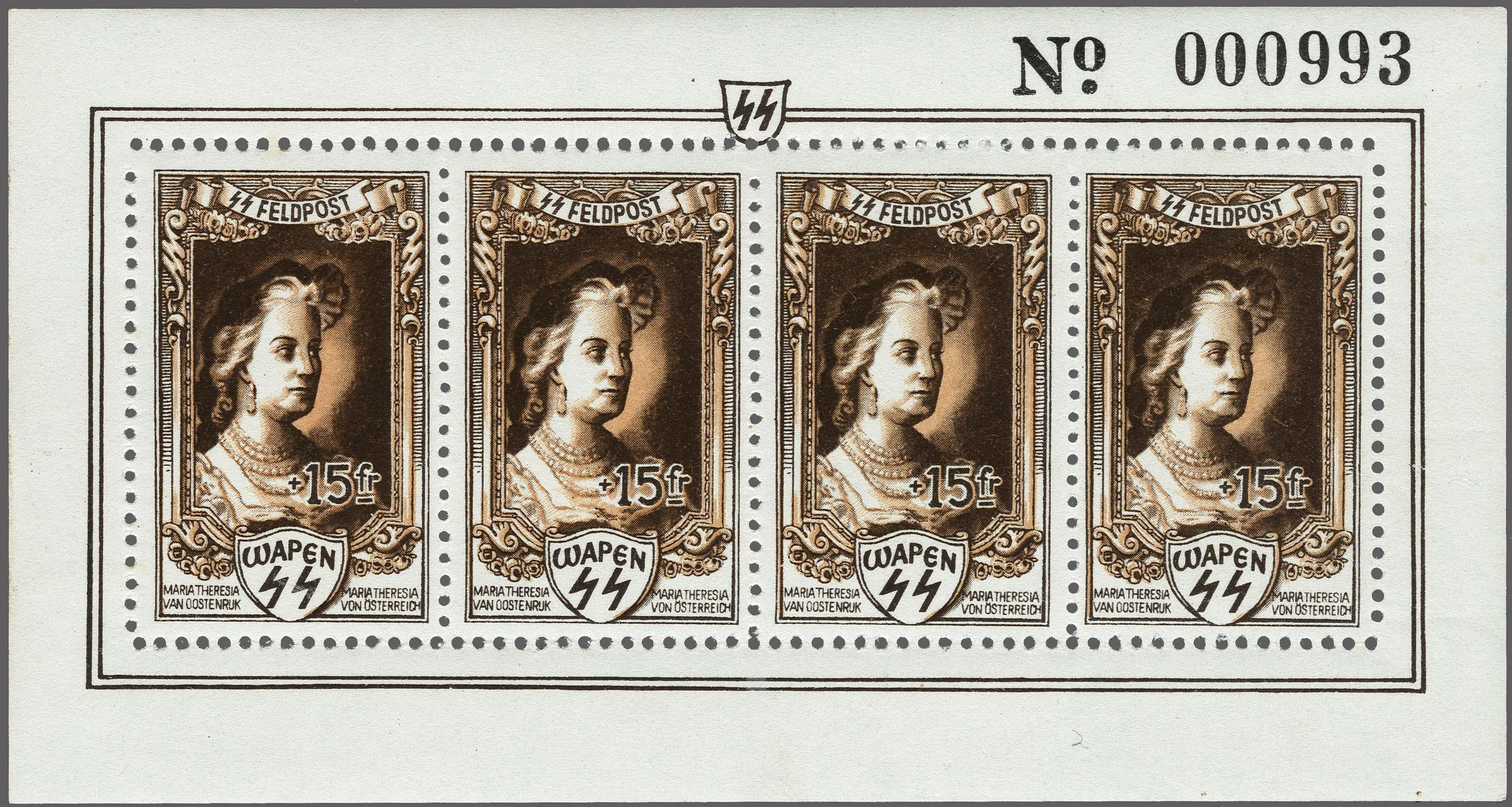Lot 20 - Belgium and former colonies Belgium -  Corinphila Veilingen Auction 250-253 - Day 1 - Foreign countries