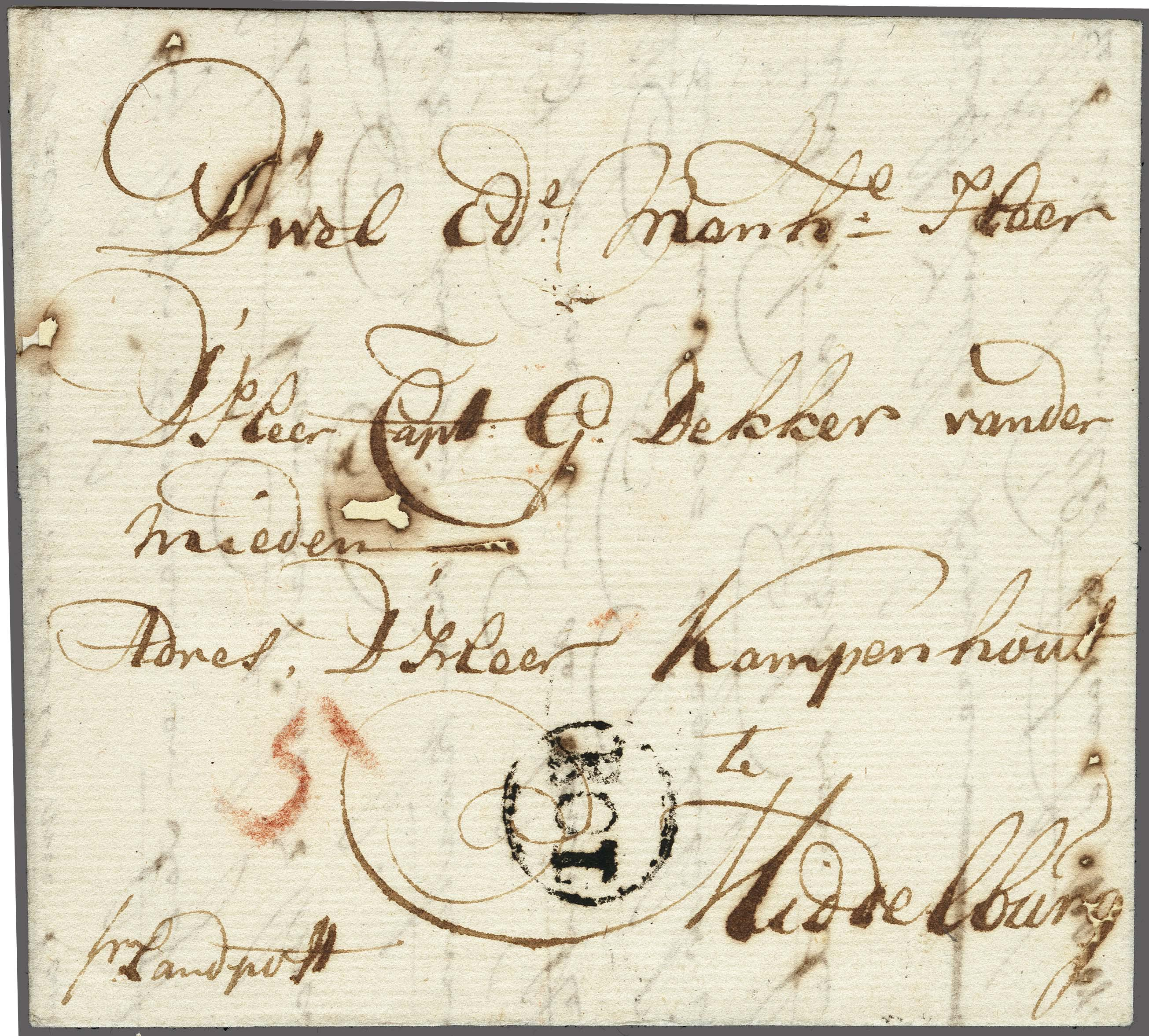 Lot 2310 - Netherlands and former colonies Netherlands -  Corinphila Veilingen Auction 250-253 - Day 3 - Netherlands and former colonies - Single lots & Picture postcards