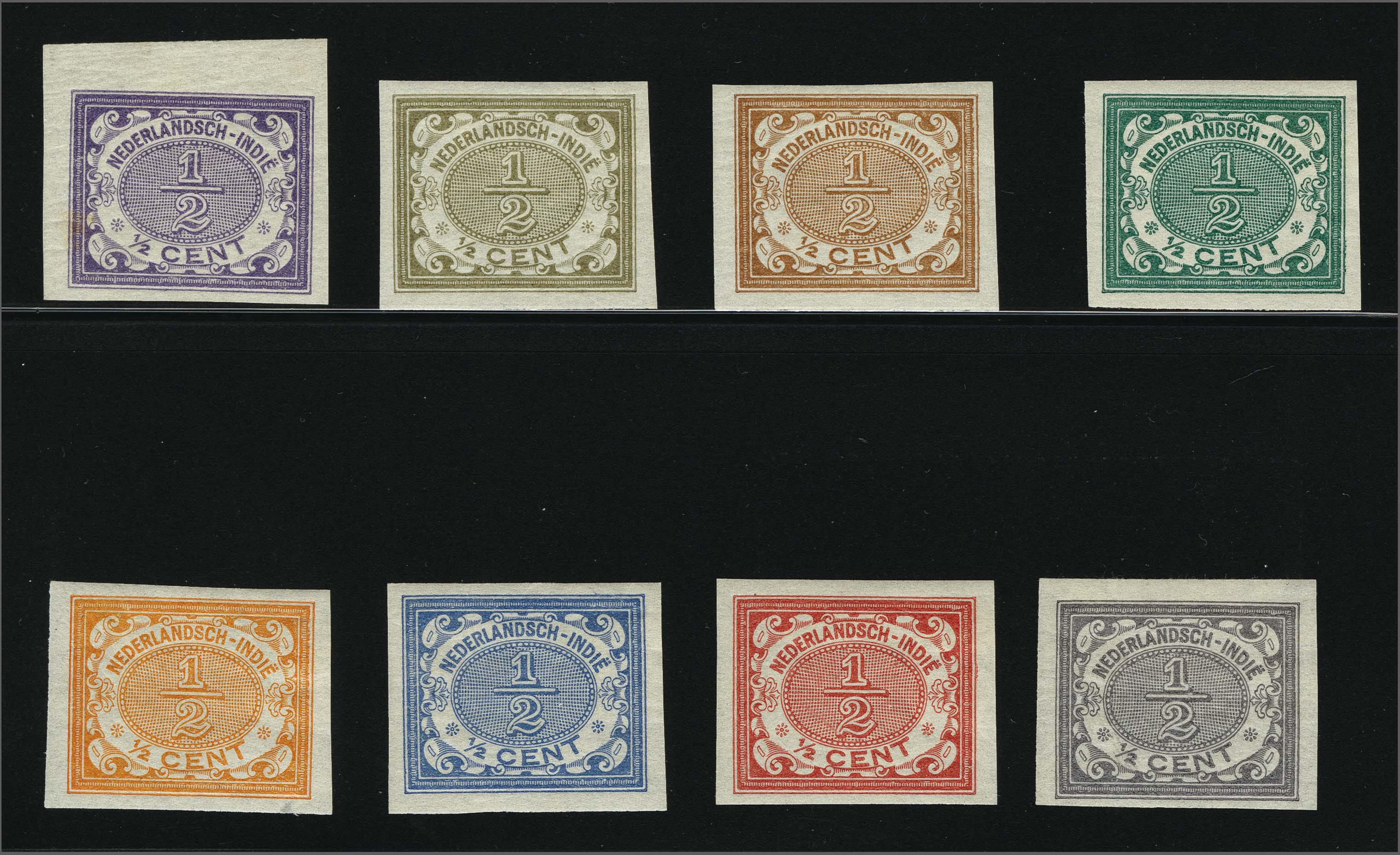 Lot 3312 - Netherlands and former colonies Netherlands Indies -  Corinphila Veilingen Auction 250-253 - Day 4 - Proofs of Netherlands former colonies
