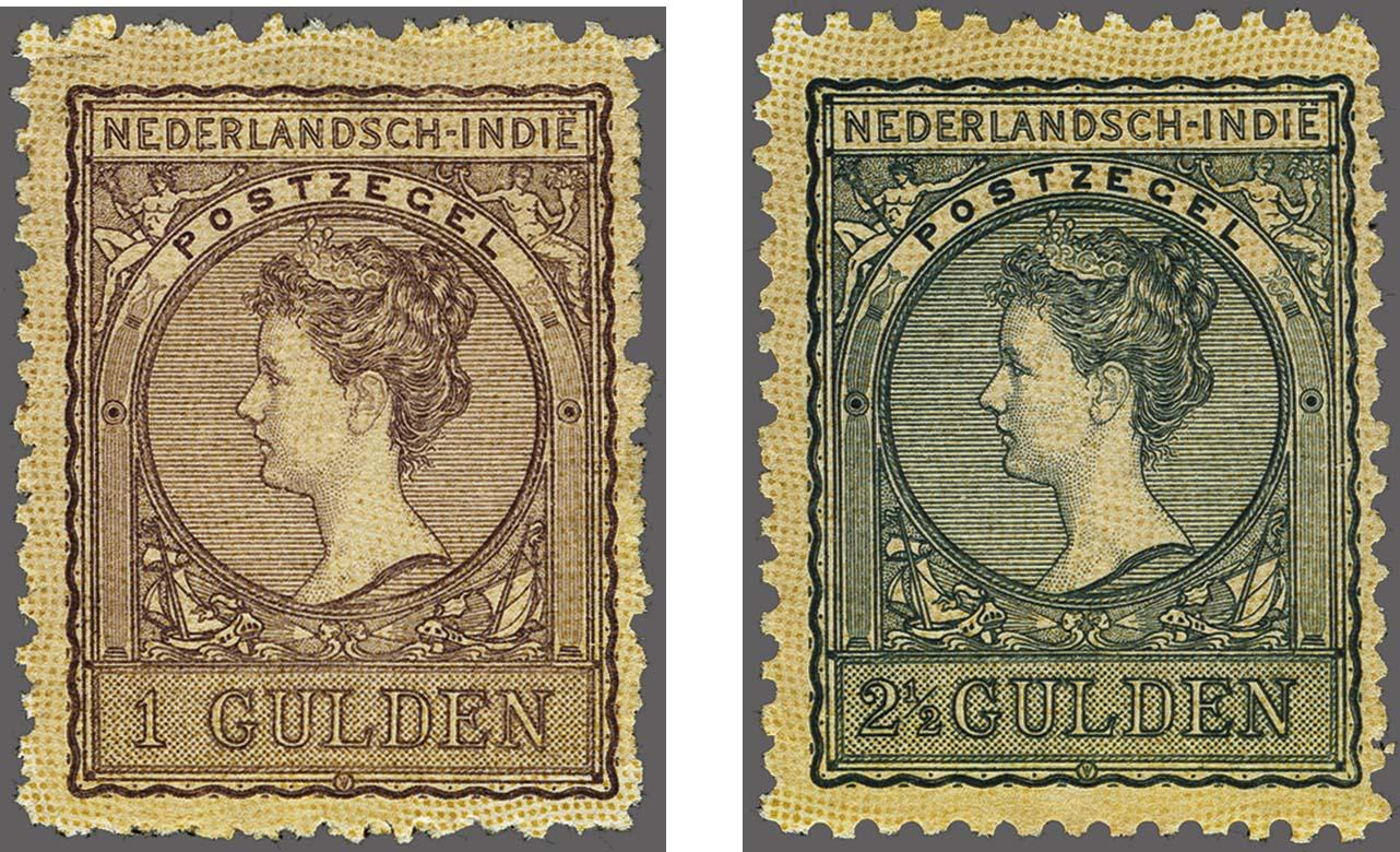 Lot 3320 - Netherlands and former colonies Netherlands Indies -  Corinphila Veilingen Auction 250-253 - Day 4 - Proofs of Netherlands former colonies