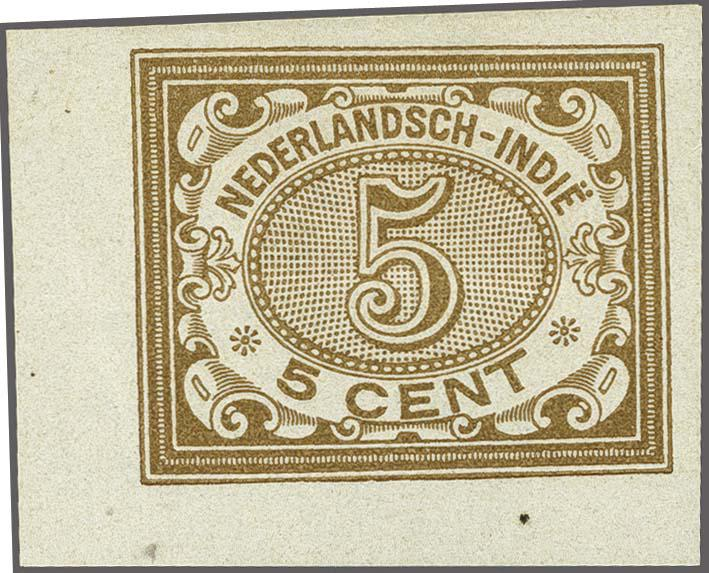 Lot 3313 - Netherlands and former colonies Netherlands Indies -  Corinphila Veilingen Auction 250-253 - Day 4 - Proofs of Netherlands former colonies
