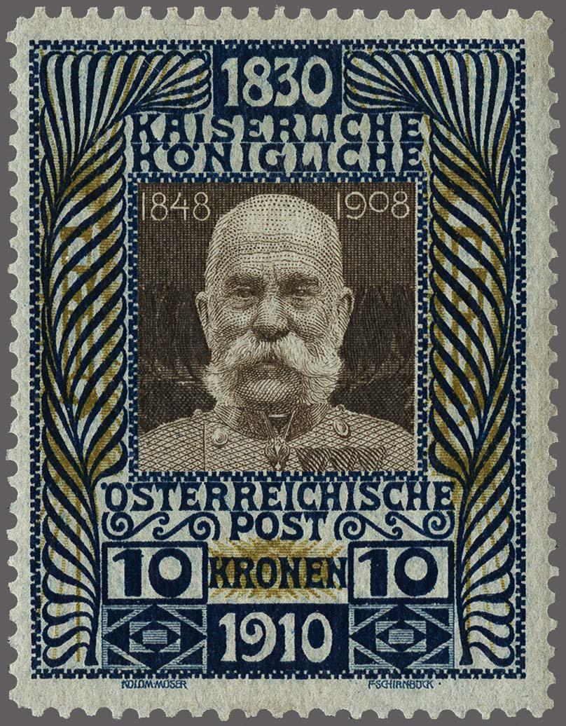 Lot 8 - Austria and former territories Austria -  Corinphila Veilingen Auction 250-253 - Day 1 - Foreign countries
