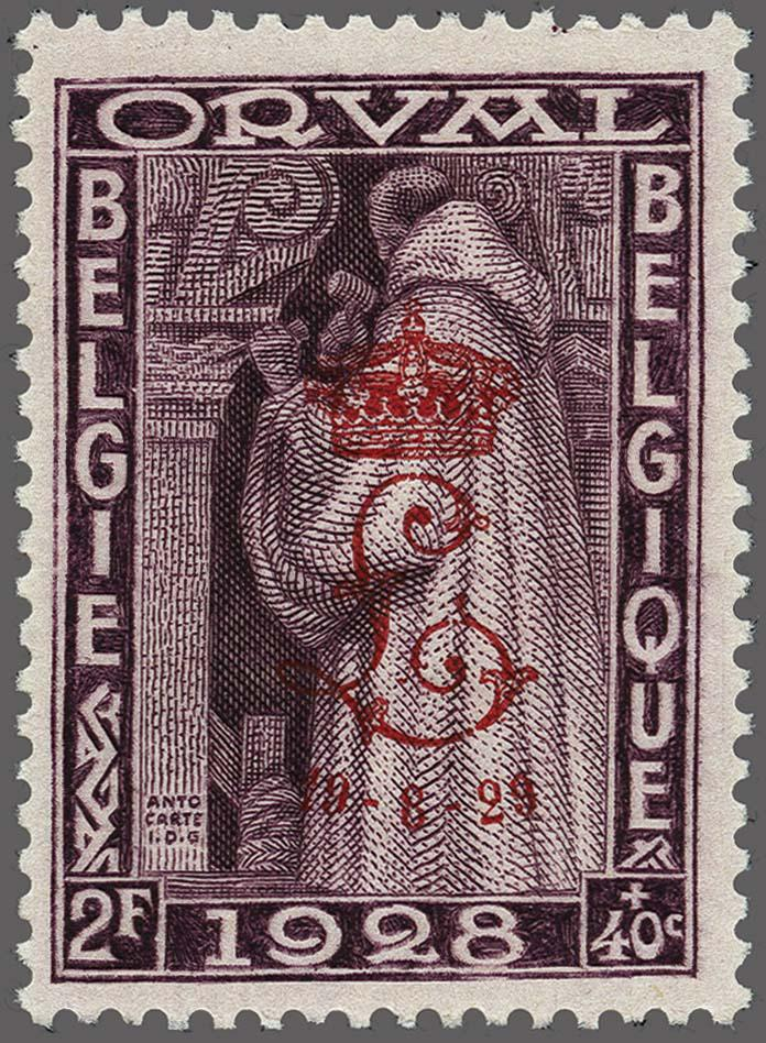 Lot 14 - Belgium and former colonies Belgium -  Corinphila Veilingen Auction 250-253 - Day 1 - Foreign countries