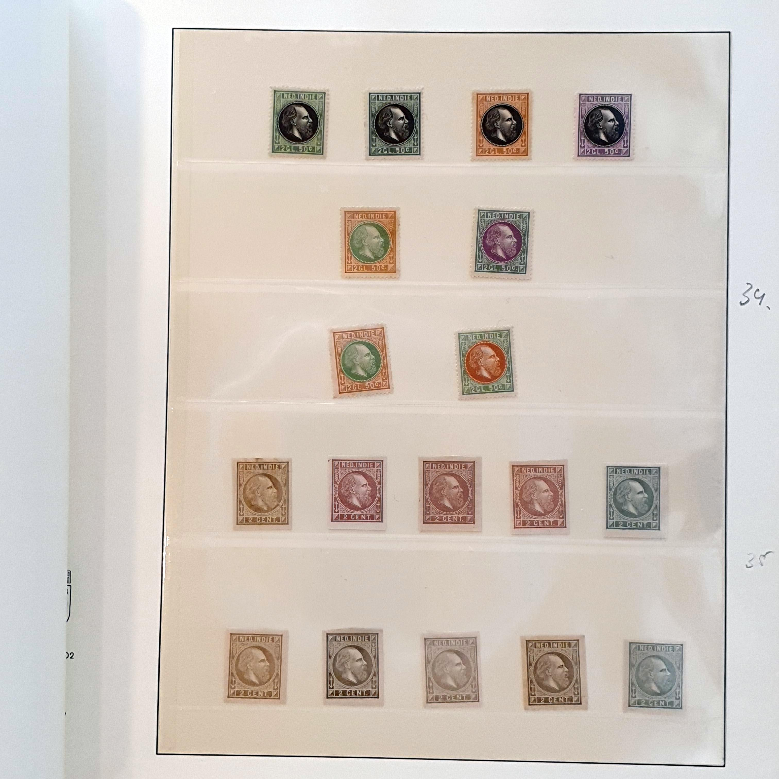 Lot 3308 - Netherlands and former colonies Netherlands Indies -  Corinphila Veilingen Auction 250-253 - Day 4 - Proofs of Netherlands former colonies