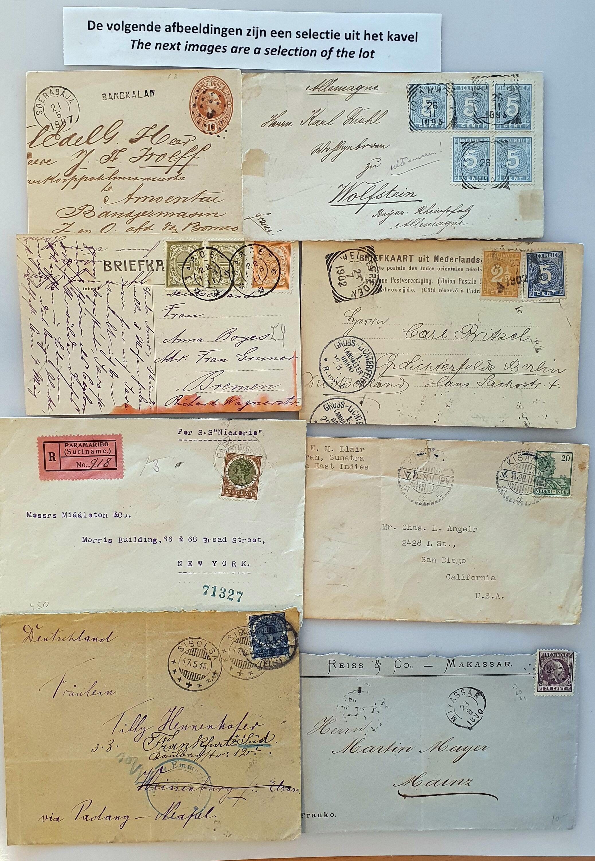 Lot 2119 - Netherlands and former colonies (former) Dutch Territories -  Corinphila Veilingen Auction 250-253 - Day 2 - Coins, medals, Netherlands and former colonies