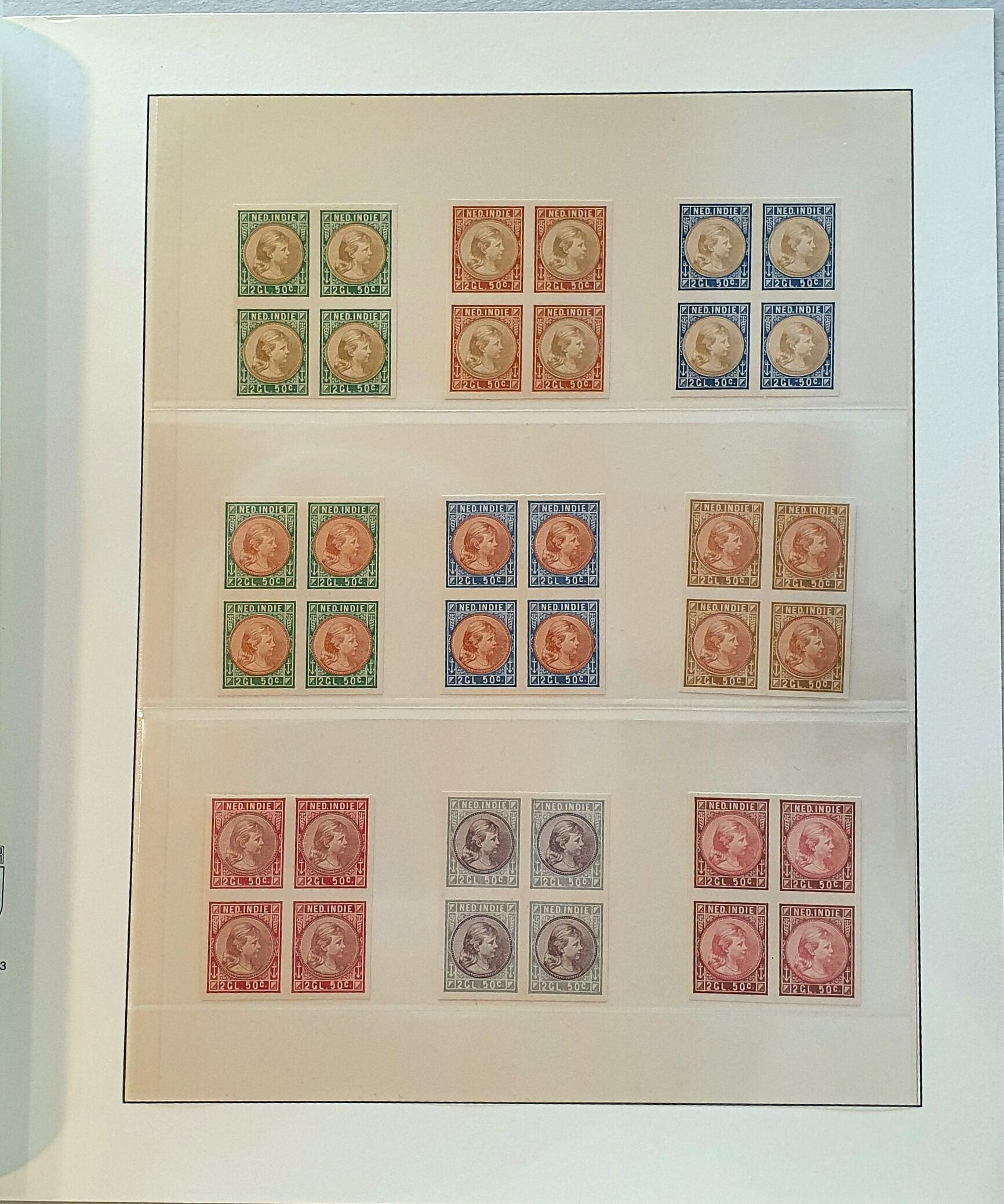 Lot 3310 - Netherlands and former colonies Netherlands Indies -  Corinphila Veilingen Auction 250-253 - Day 4 - Proofs of Netherlands former colonies