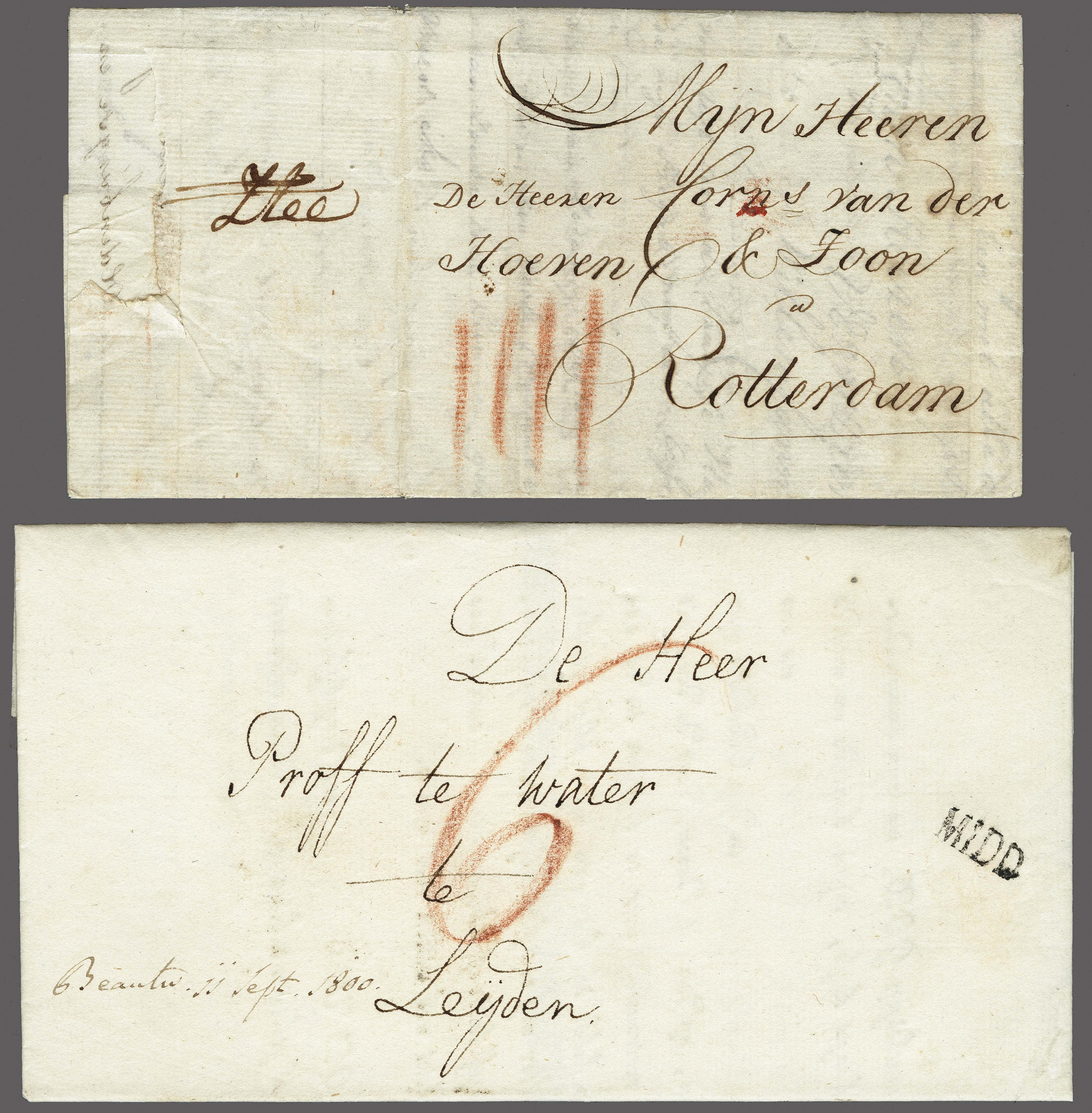 Lot 2317 - Netherlands and former colonies Netherlands -  Corinphila Veilingen Auction 250-253 - Day 3 - Netherlands and former colonies - Single lots & Picture postcards