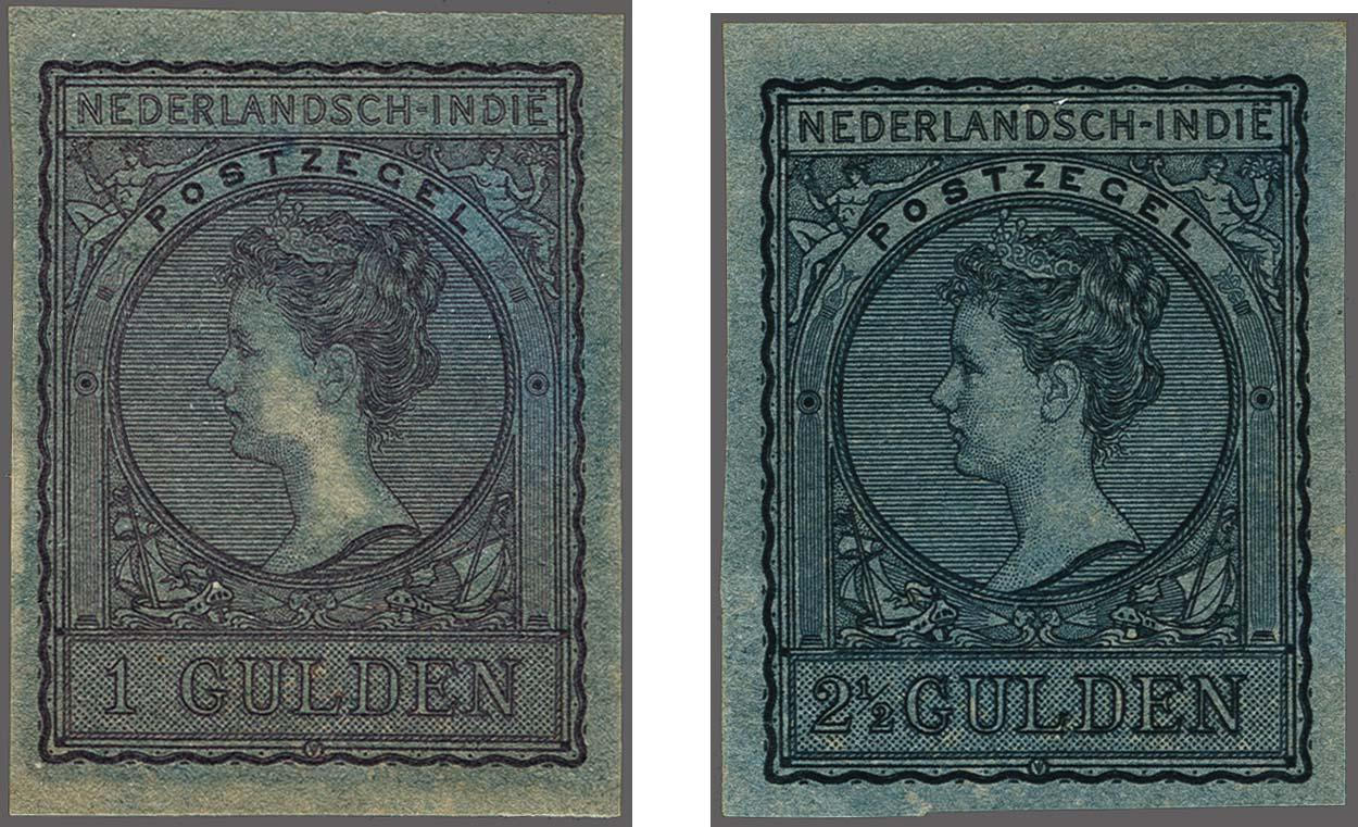 Lot 3321 - Netherlands and former colonies Netherlands Indies -  Corinphila Veilingen Auction 250-253 - Day 4 - Proofs of Netherlands former colonies