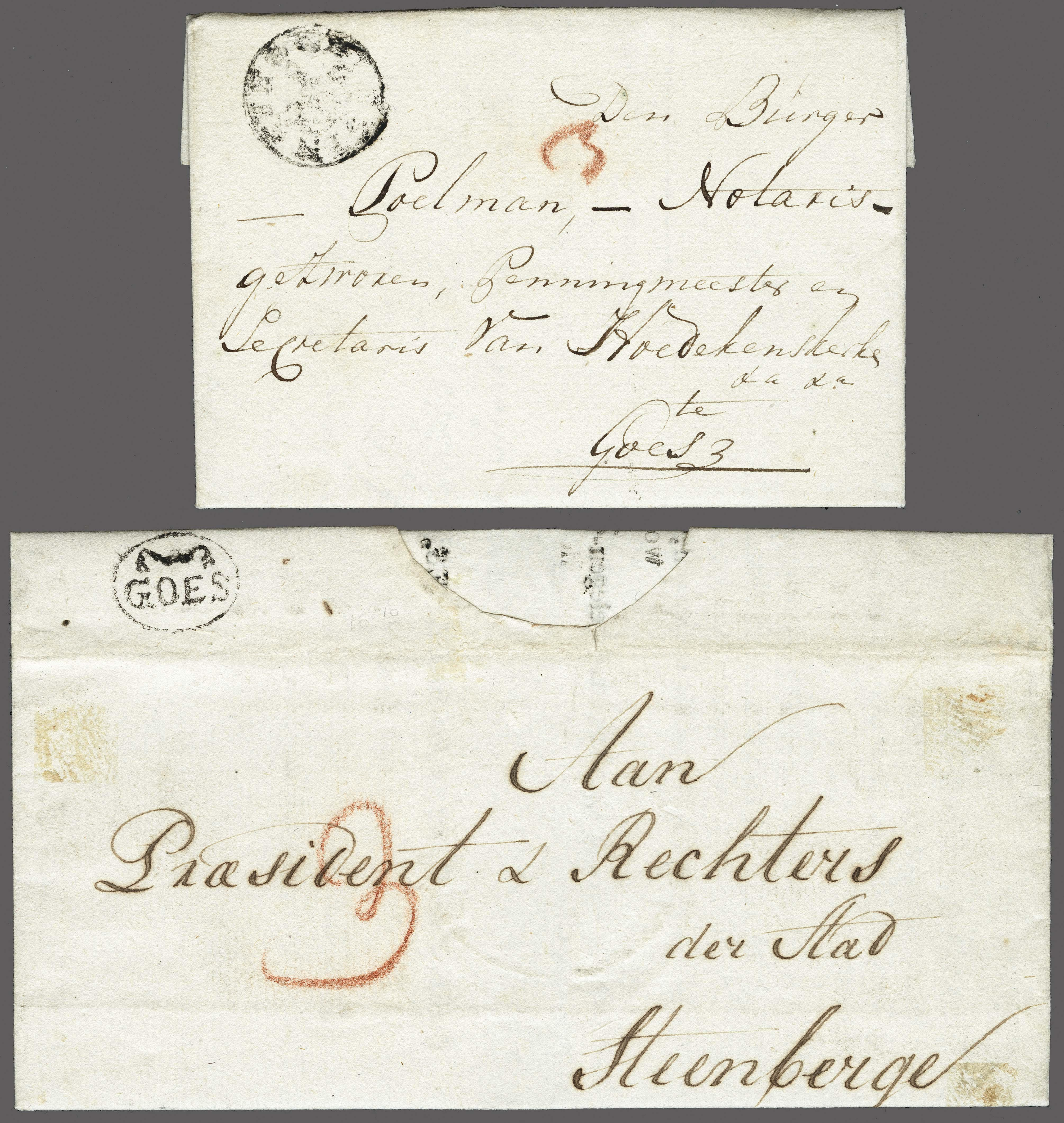 Lot 2316 - Netherlands and former colonies Netherlands -  Corinphila Veilingen Auction 250-253 - Day 3 - Netherlands and former colonies - Single lots & Picture postcards