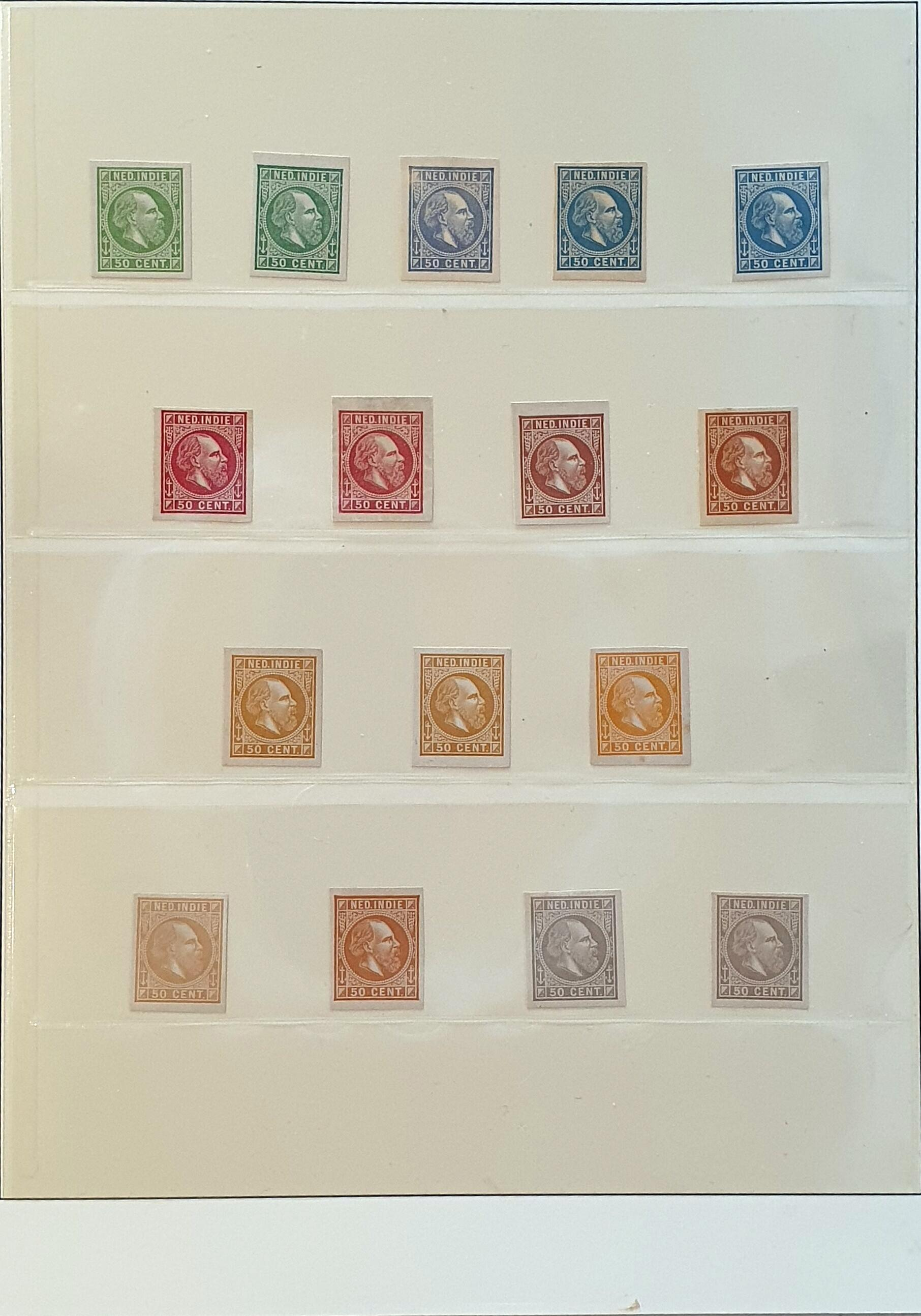 Lot 3306 - Netherlands and former colonies Netherlands Indies -  Corinphila Veilingen Auction 250-253 - Day 4 - Proofs of Netherlands former colonies