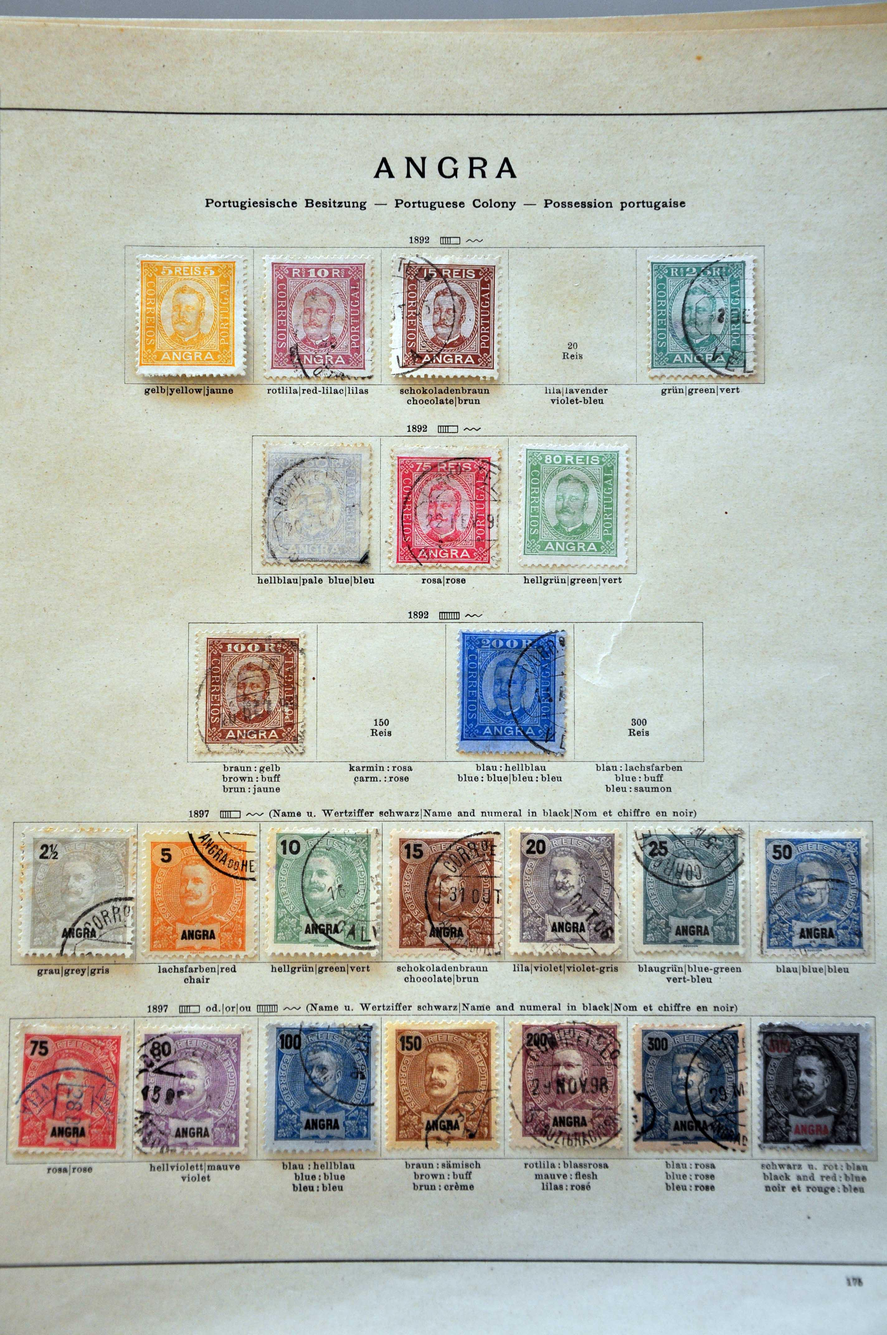 Stamp Auction - Portugal and former territories portuguese