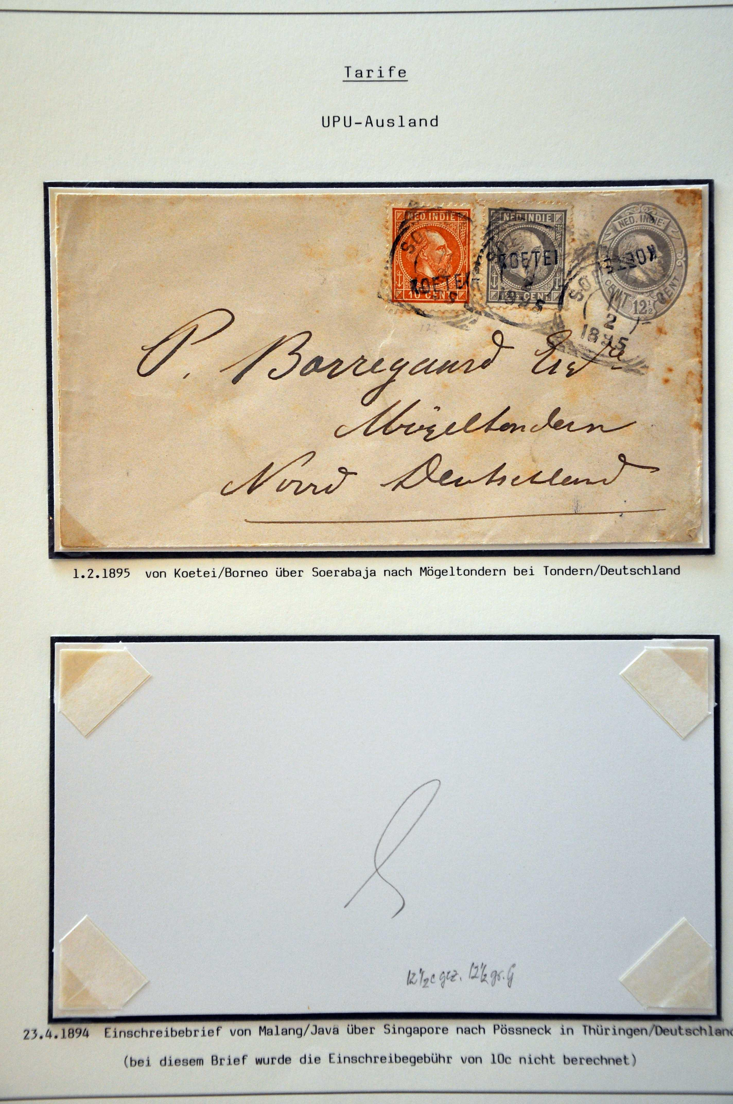 Stamp Auction Netherlands And Former Territories Dutch East Indies