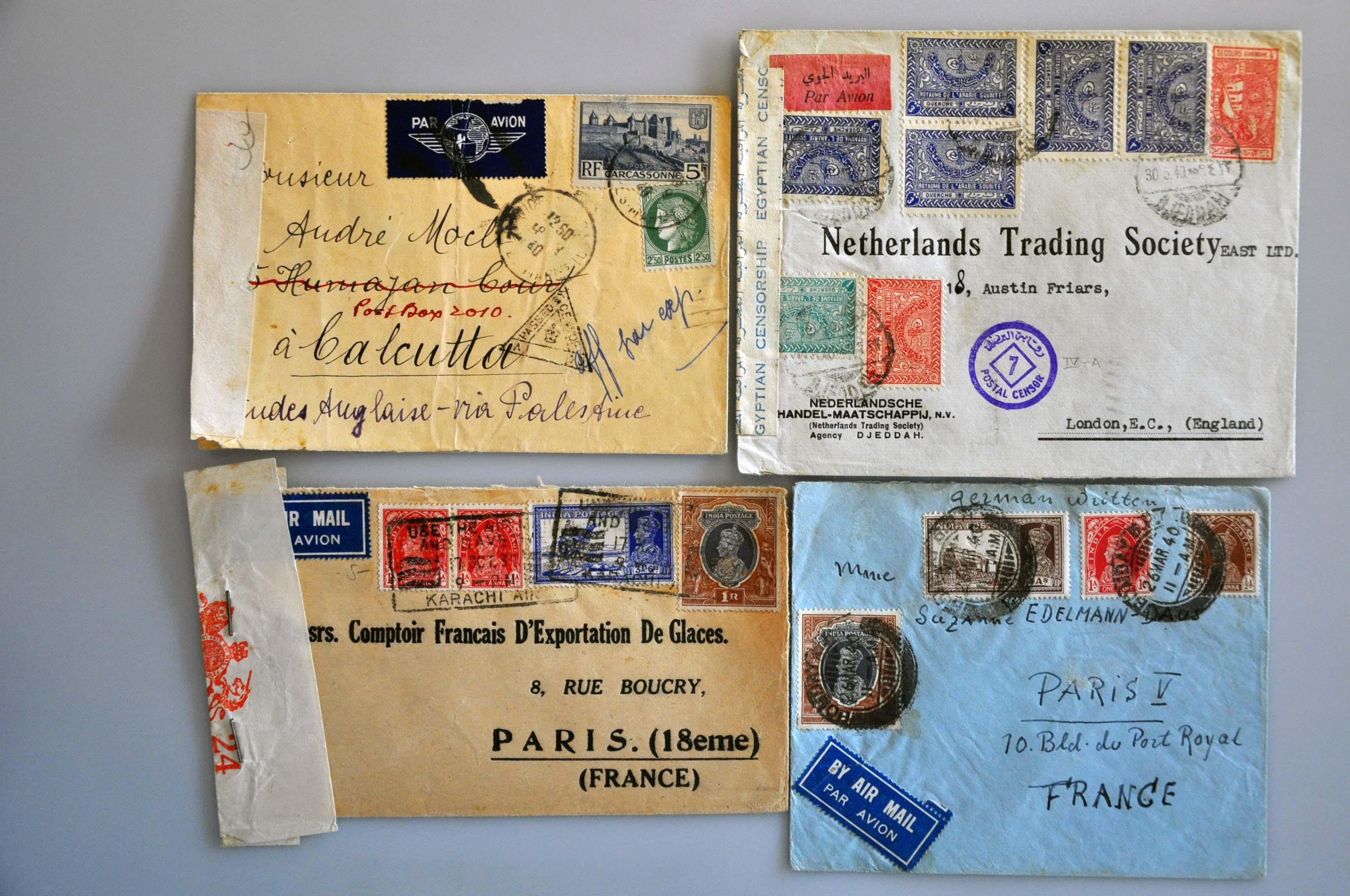 Lot 1172 - Topics and Miscellaneous world war II - Corinphila veilingen  Auction 235: Postal