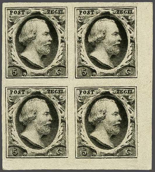 Van Balen Blanken/ Buurman 5 Cent Plaat Vi Nederland 1852