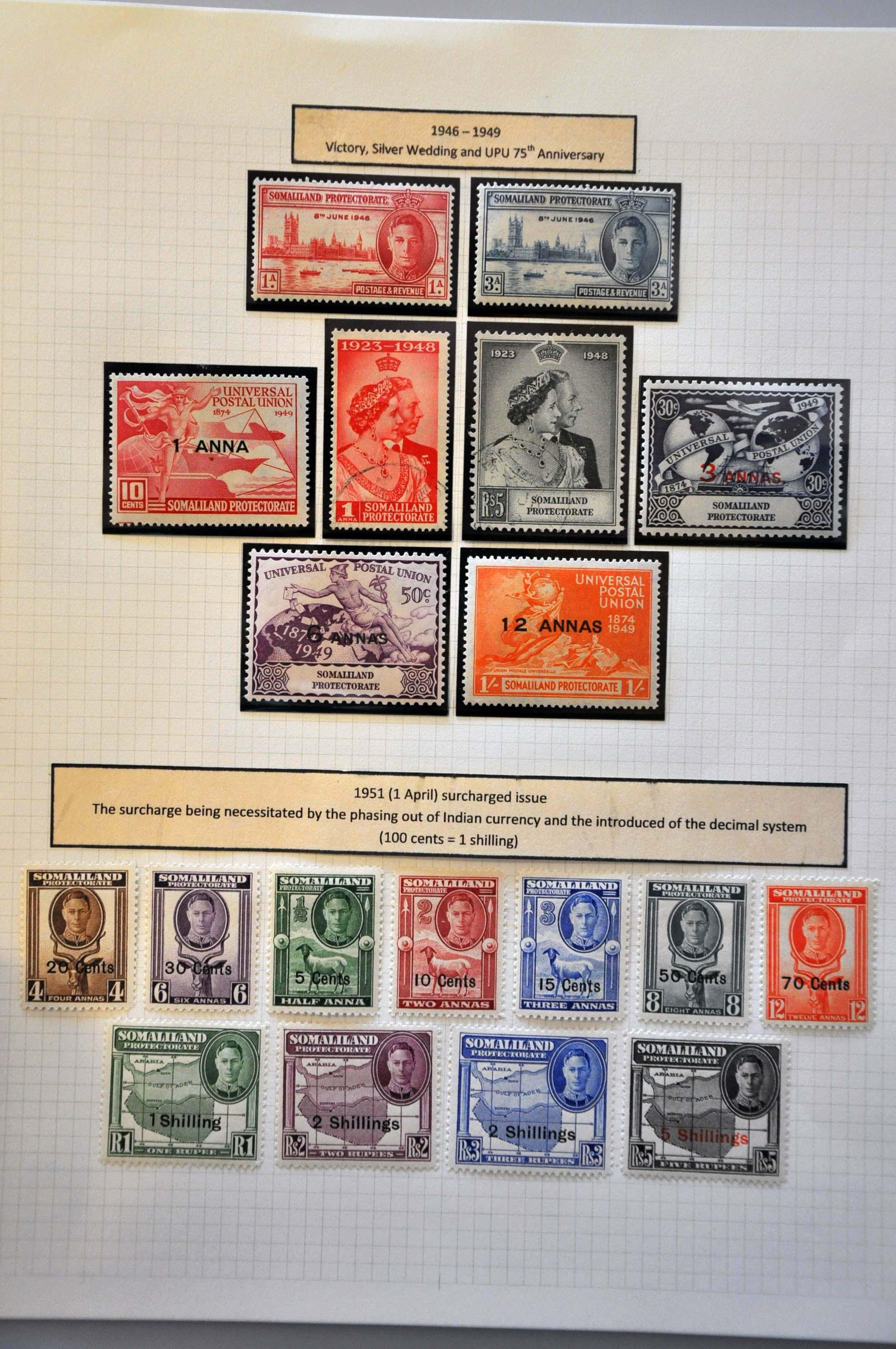 Stamp Auction - great britain and former territories british