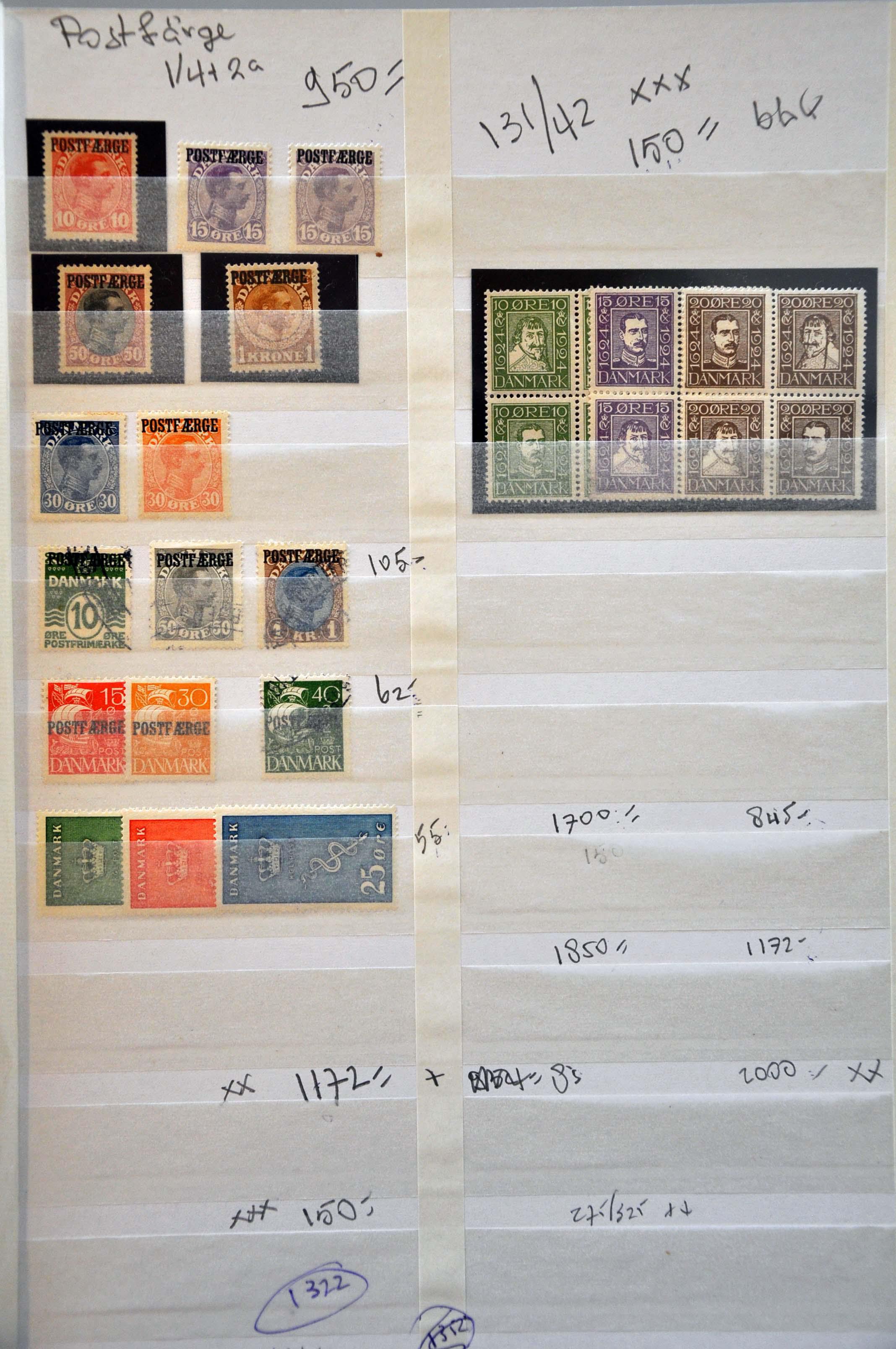Lot 2694 - scandinavia Denmark - Corinphila Veilingen Auction 237 Part 2:  General sale