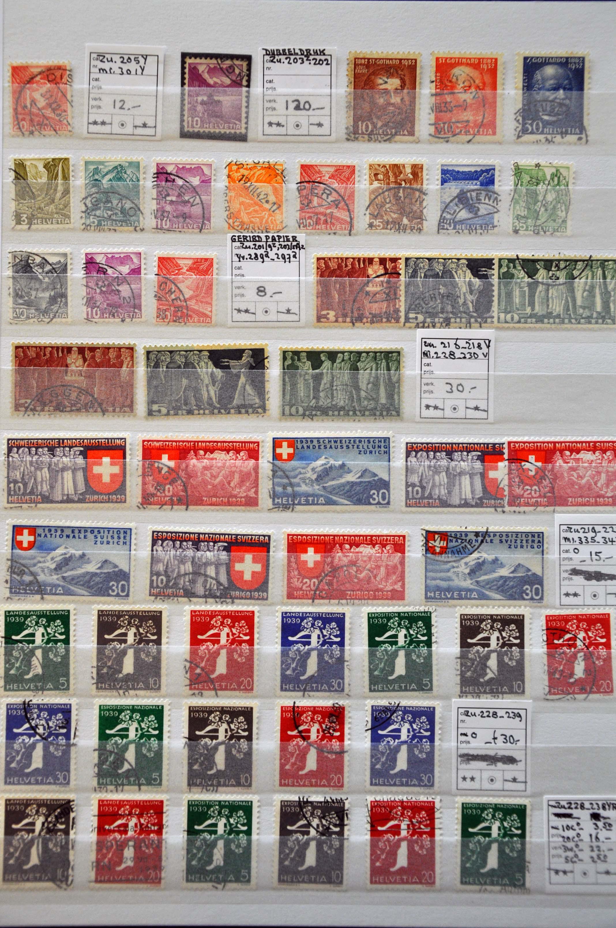 Stamp Auction - Switzerland Switzerland - Auction 237 Part 2