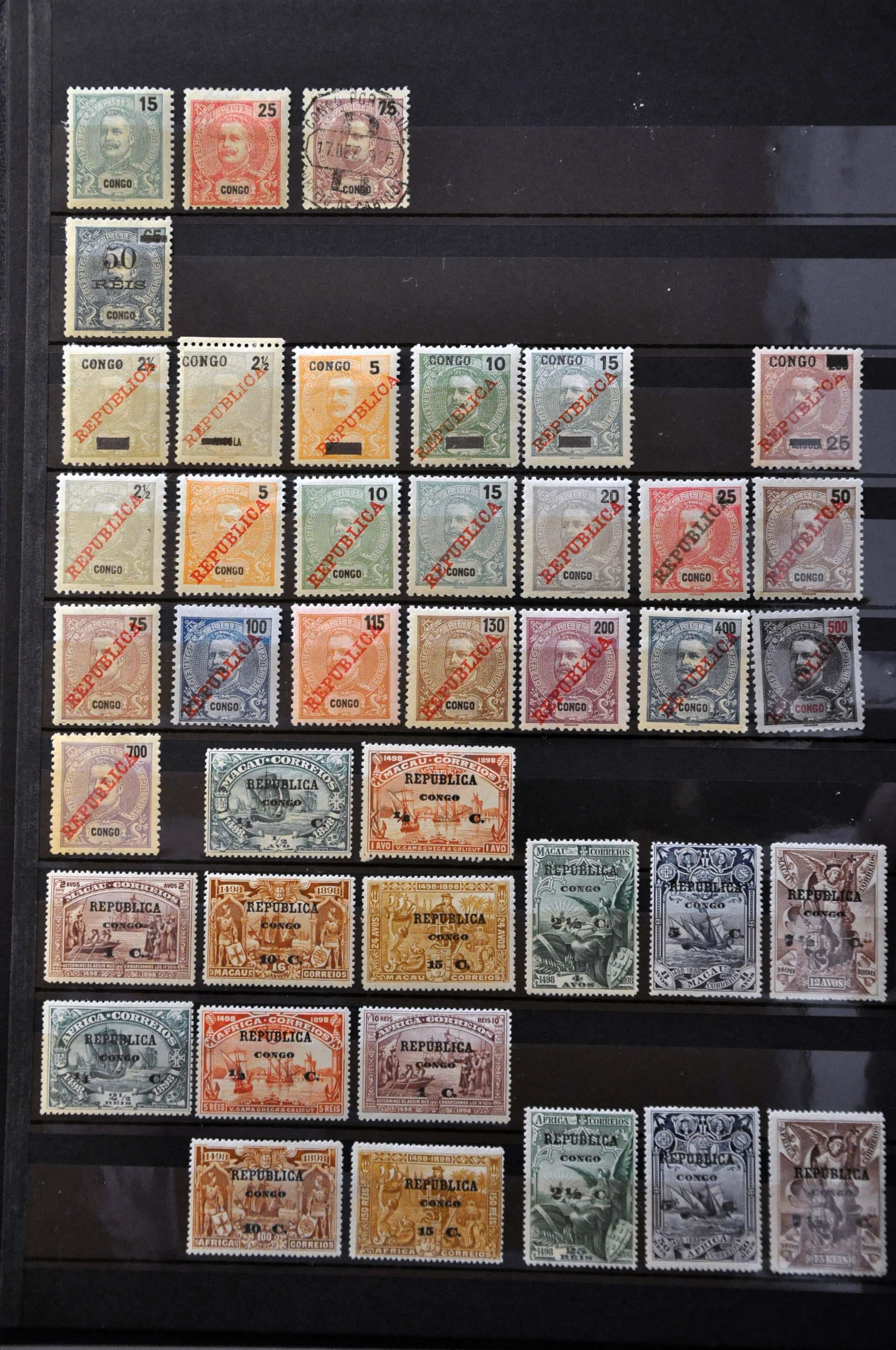 Stamp Auction - Portugal and former colonies portuguese