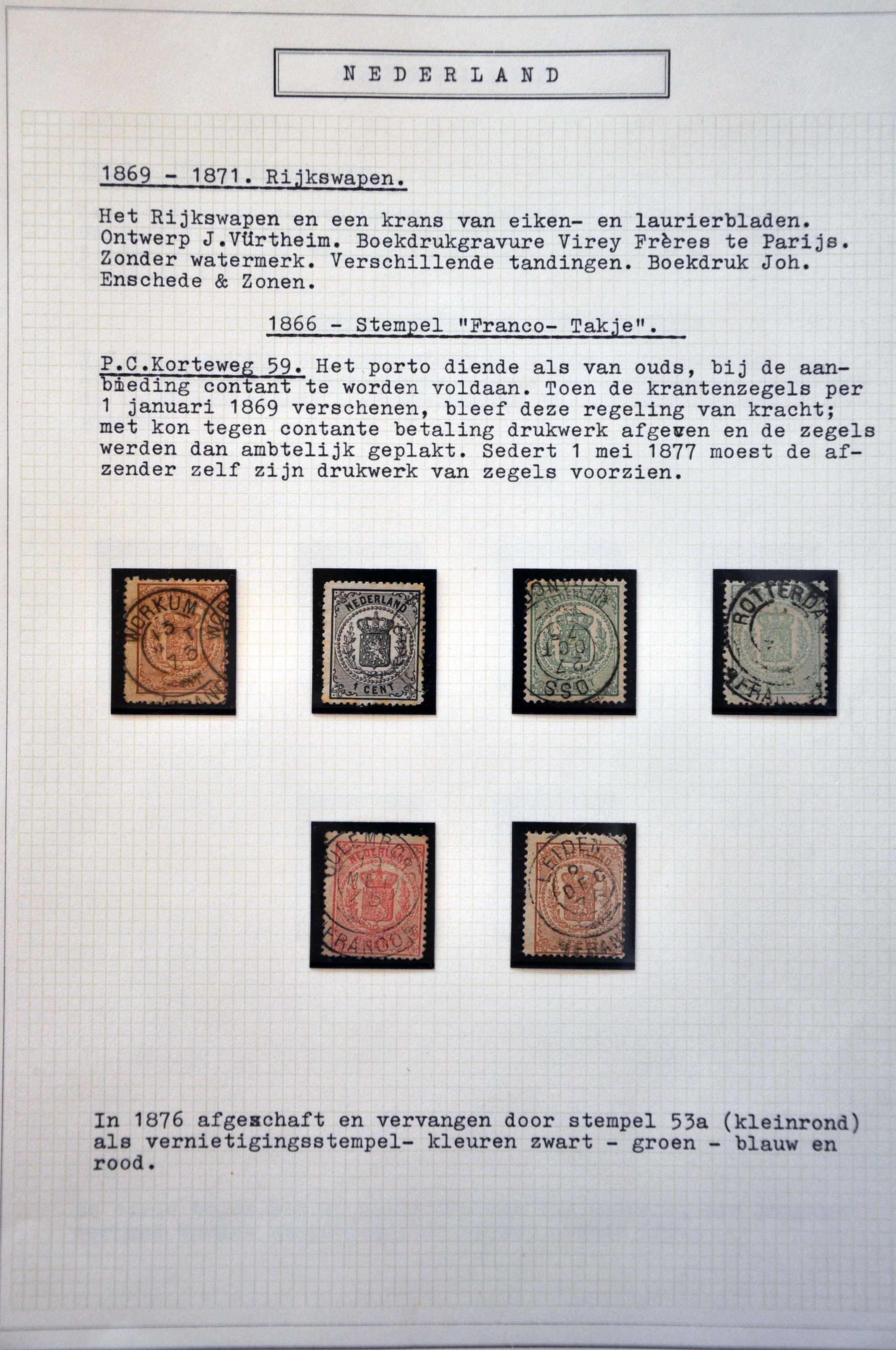 Stamp Auction Netherlands And Former Colonies Netherlands