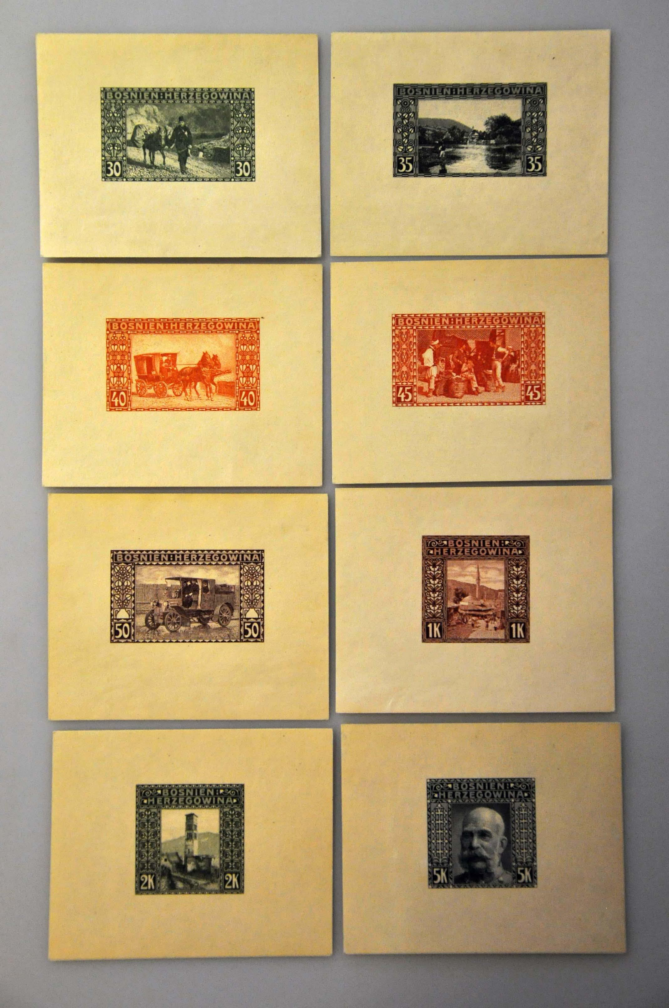 Lot 21 - Austria and former territories Bosnia and Herzegowina (Austrian) -  Corinphila Veilingen Auction 244 -Netherlands and former colonies, WW2 Postal History, Bosnia, German and British colonies, Egypt. - Day 1