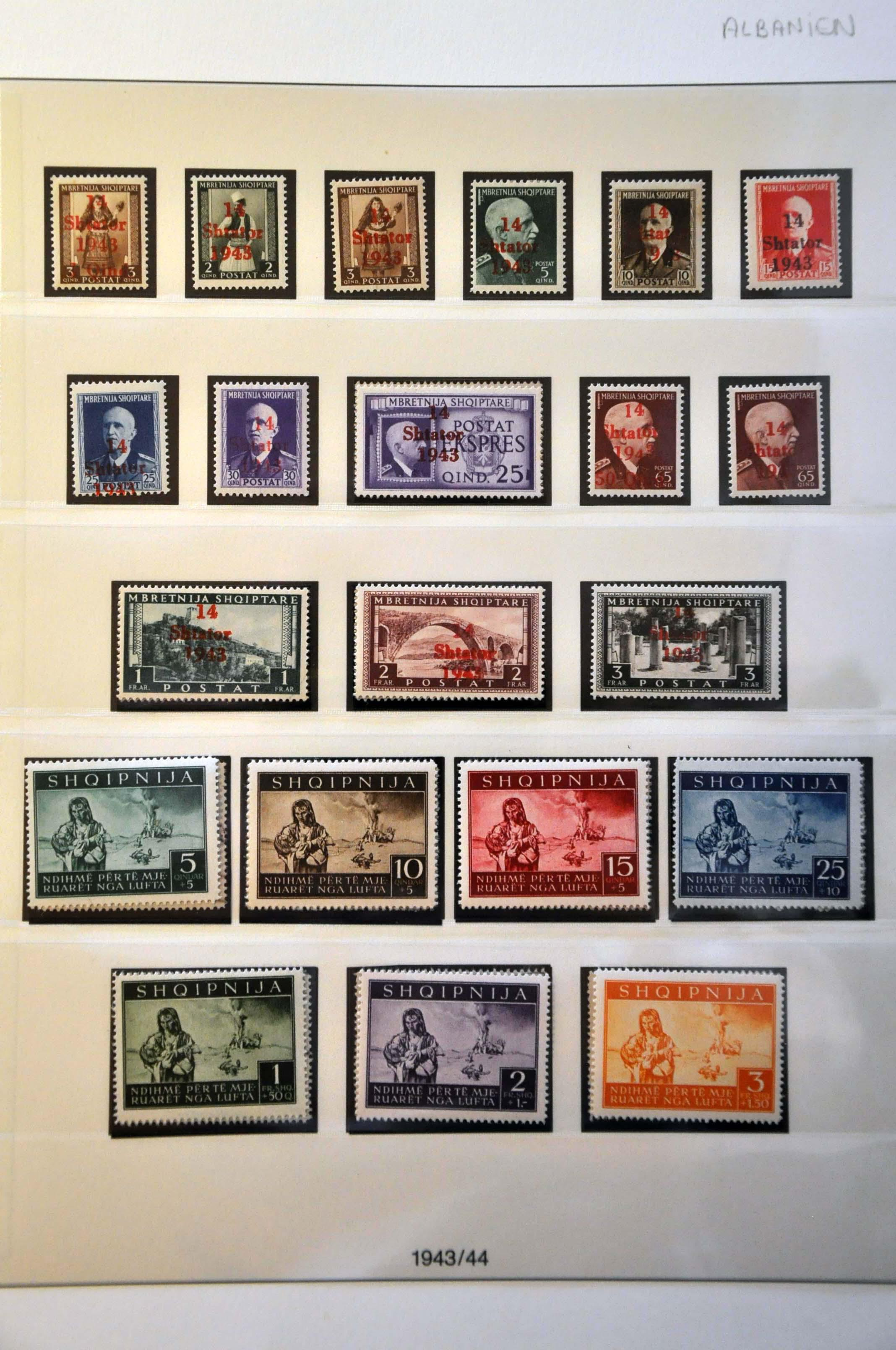 Lot 635 - Germany and former colonies Germany Occupation WW II -  Corinphila Veilingen Auction 244 -Netherlands and former colonies, WW2 Postal History, Bosnia, German and British colonies, Egypt. - Day 1