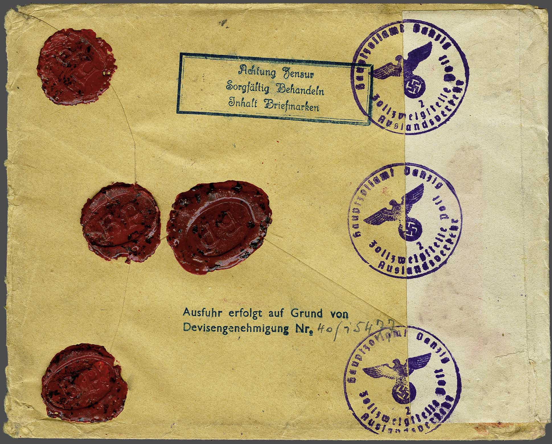 Lot 2820 - Netherlands and former colonies Netherlands -  Corinphila Veilingen Auction 244 -Netherlands and former colonies, WW2 Postal History, Bosnia, German and British colonies, Egypt. - Day 3