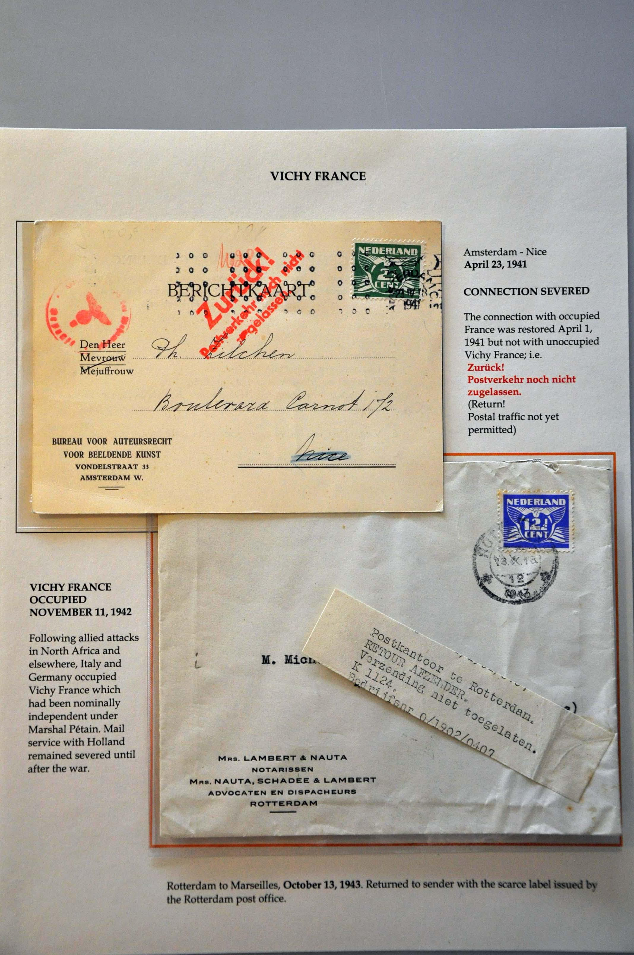 Lot 2821 - Netherlands and former colonies Netherlands -  Corinphila Veilingen Auction 244 -Netherlands and former colonies, WW2 Postal History, Bosnia, German and British colonies, Egypt. - Day 3