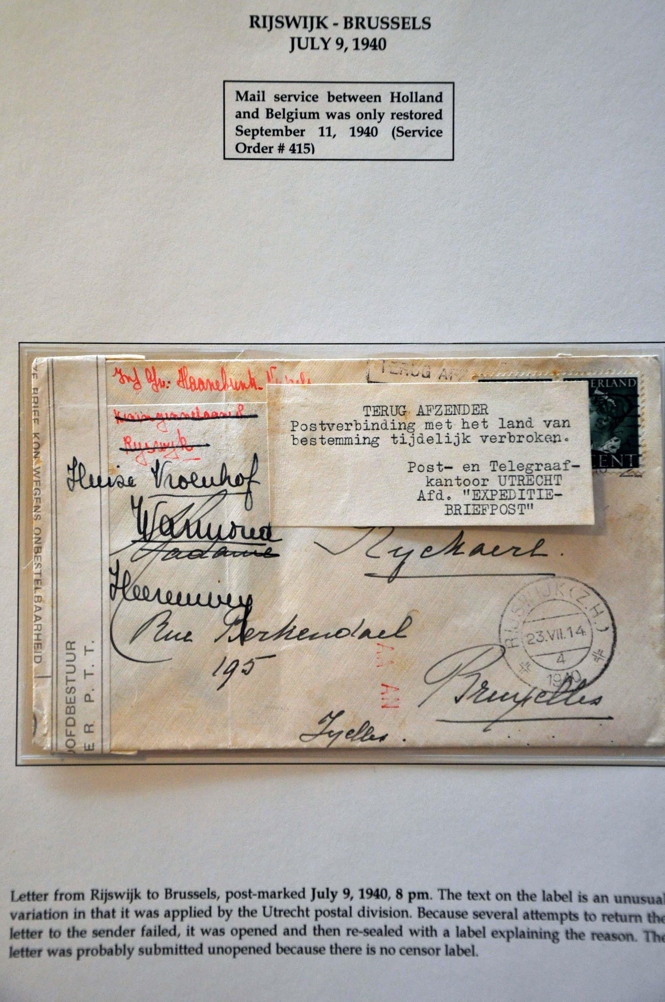 Lot 2815 - Netherlands and former colonies Netherlands -  Corinphila Veilingen Auction 244 -Netherlands and former colonies, WW2 Postal History, Bosnia, German and British colonies, Egypt. - Day 3