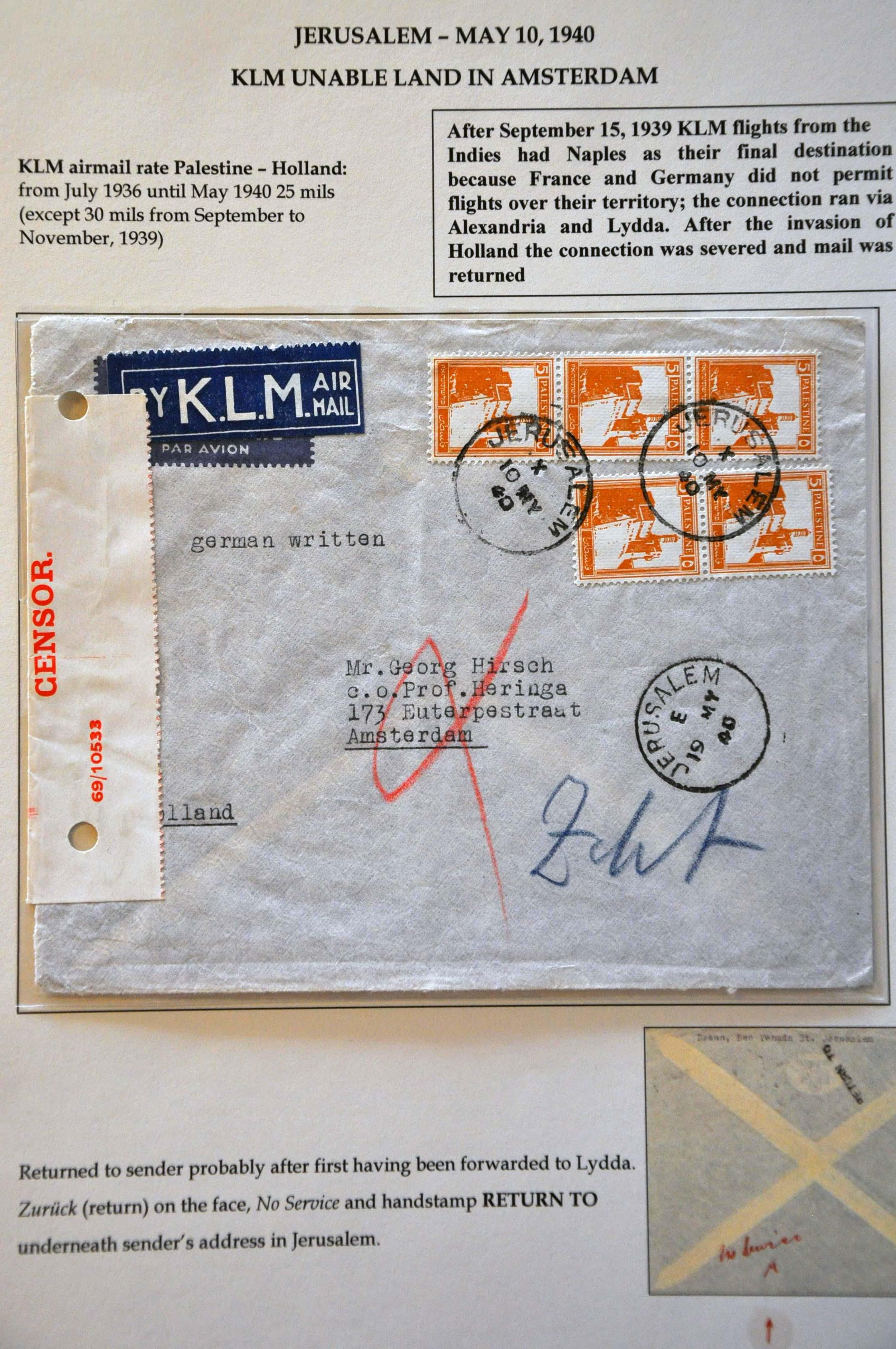 Lot 2808 - Netherlands and former colonies Netherlands -  Corinphila Veilingen Auction 244 -Netherlands and former colonies, WW2 Postal History, Bosnia, German and British colonies, Egypt. - Day 3