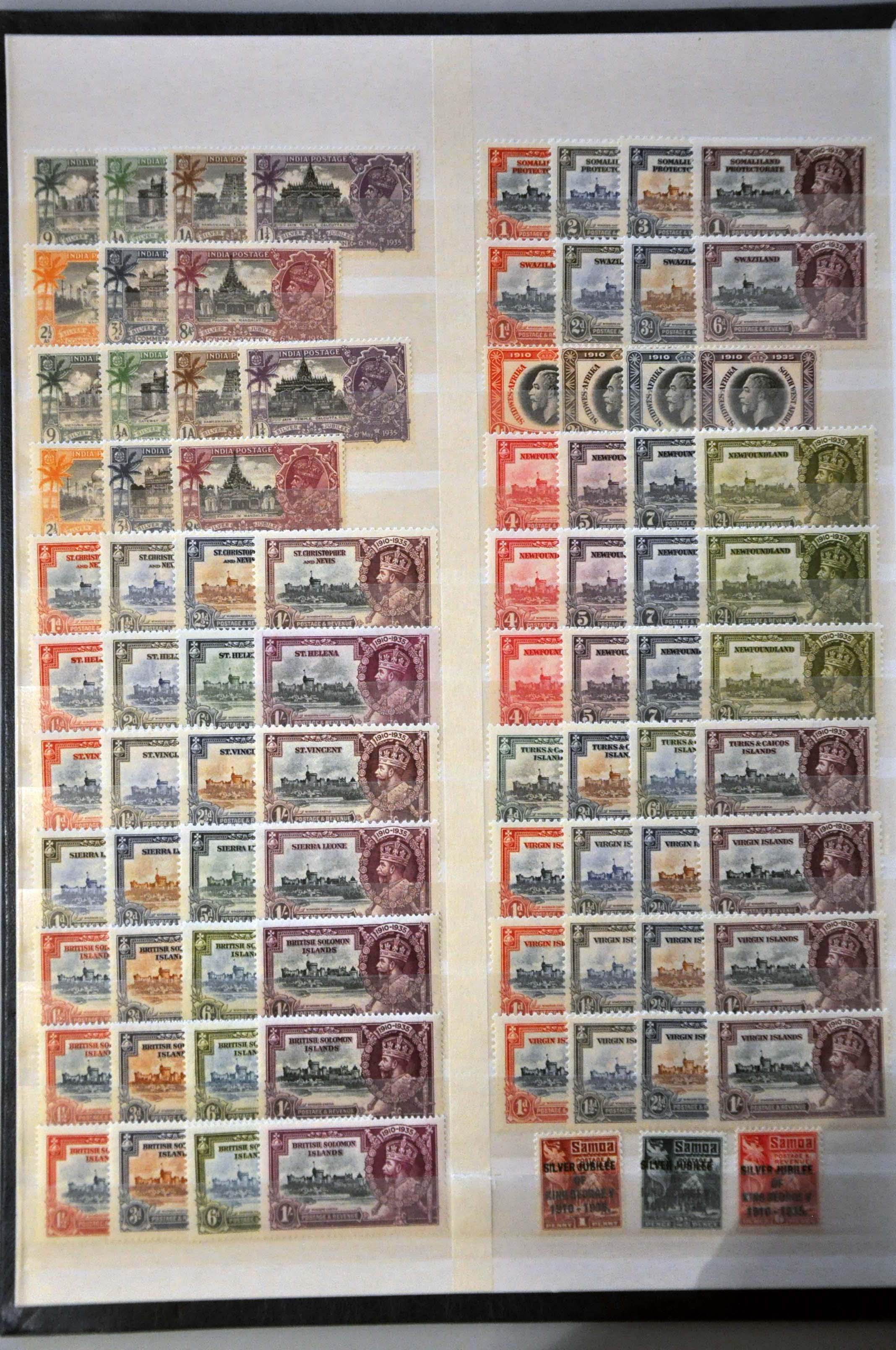Lot 708 - Great Britain and former colonies British Commonwealth -  Corinphila Veilingen Auction 244 -Netherlands and former colonies, WW2 Postal History, Bosnia, German and British colonies, Egypt. - Day 1